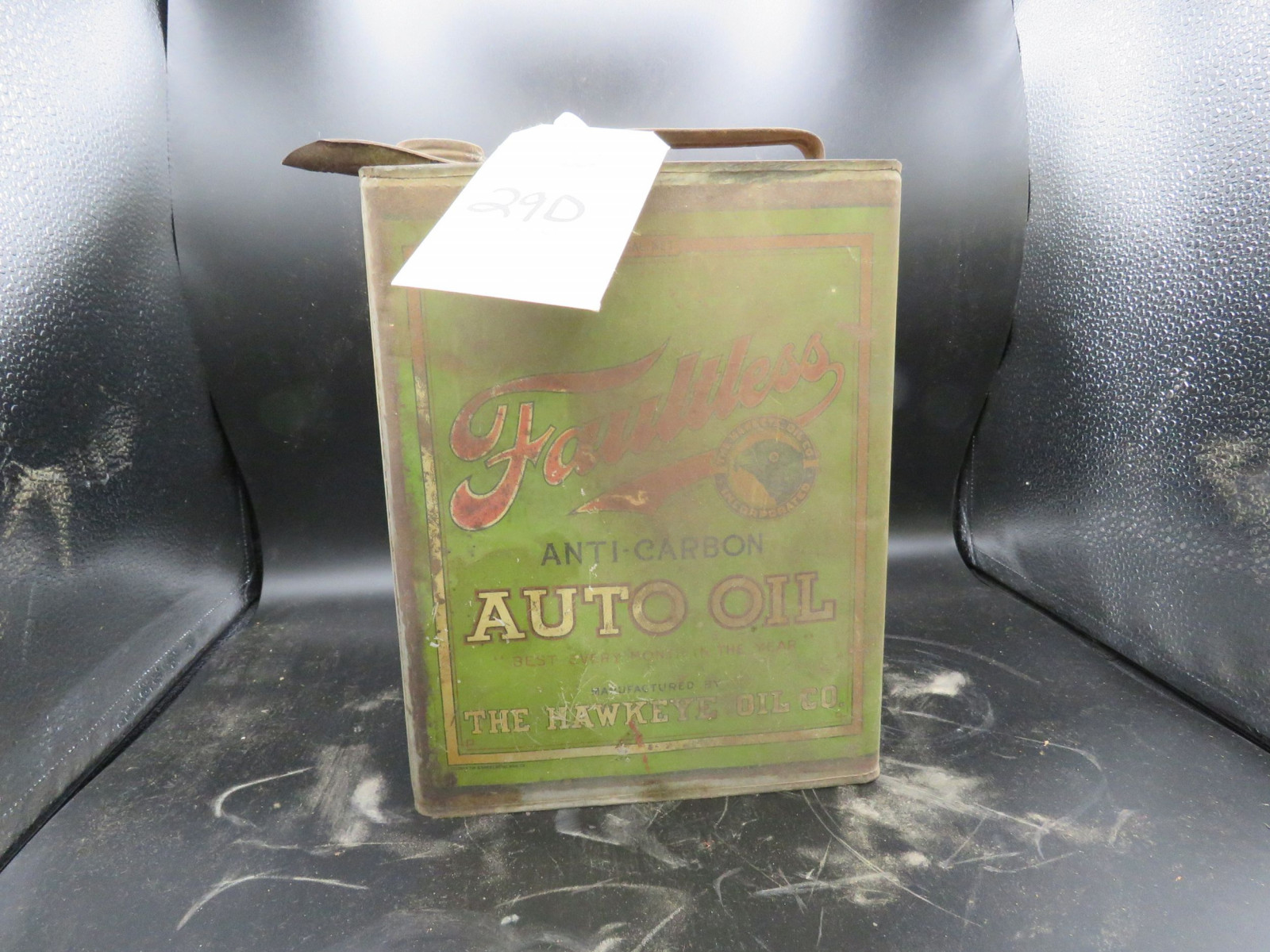 Faultless Auto Oil Can Empty - Image 2