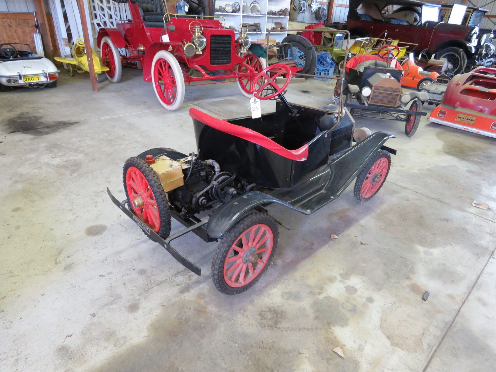 Ford Model T Touring Car Gas Powered Child's or Shriner Car - Image 8