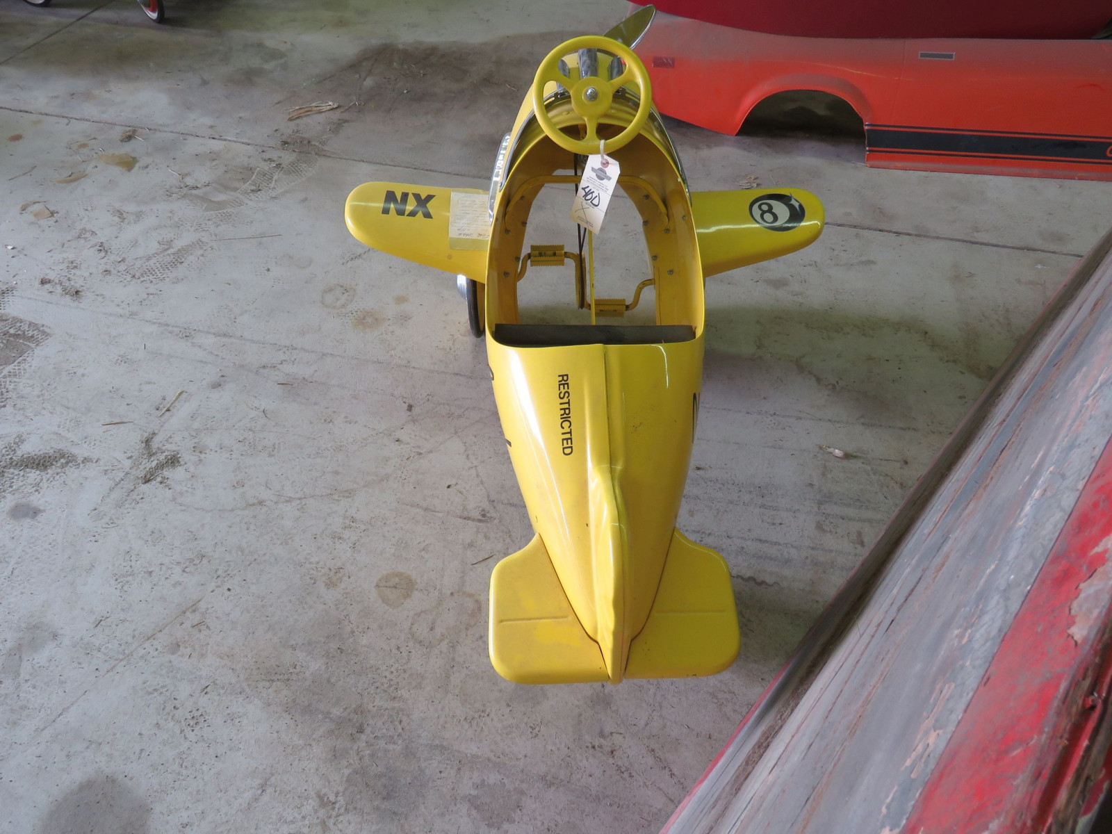 Reproduction Airplane Pedal Car - Image 4
