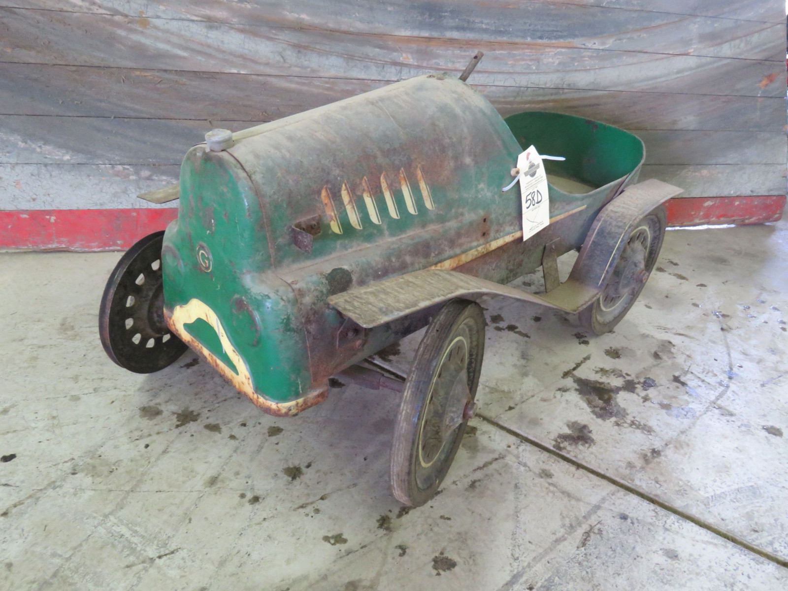 Garton Hot Rod Pedal Car for Restore - Image 1