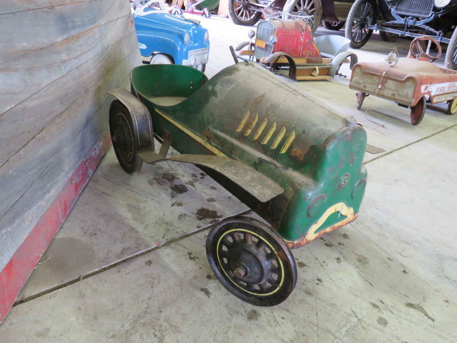 Garton Hot Rod Pedal Car for Restore - Image 2