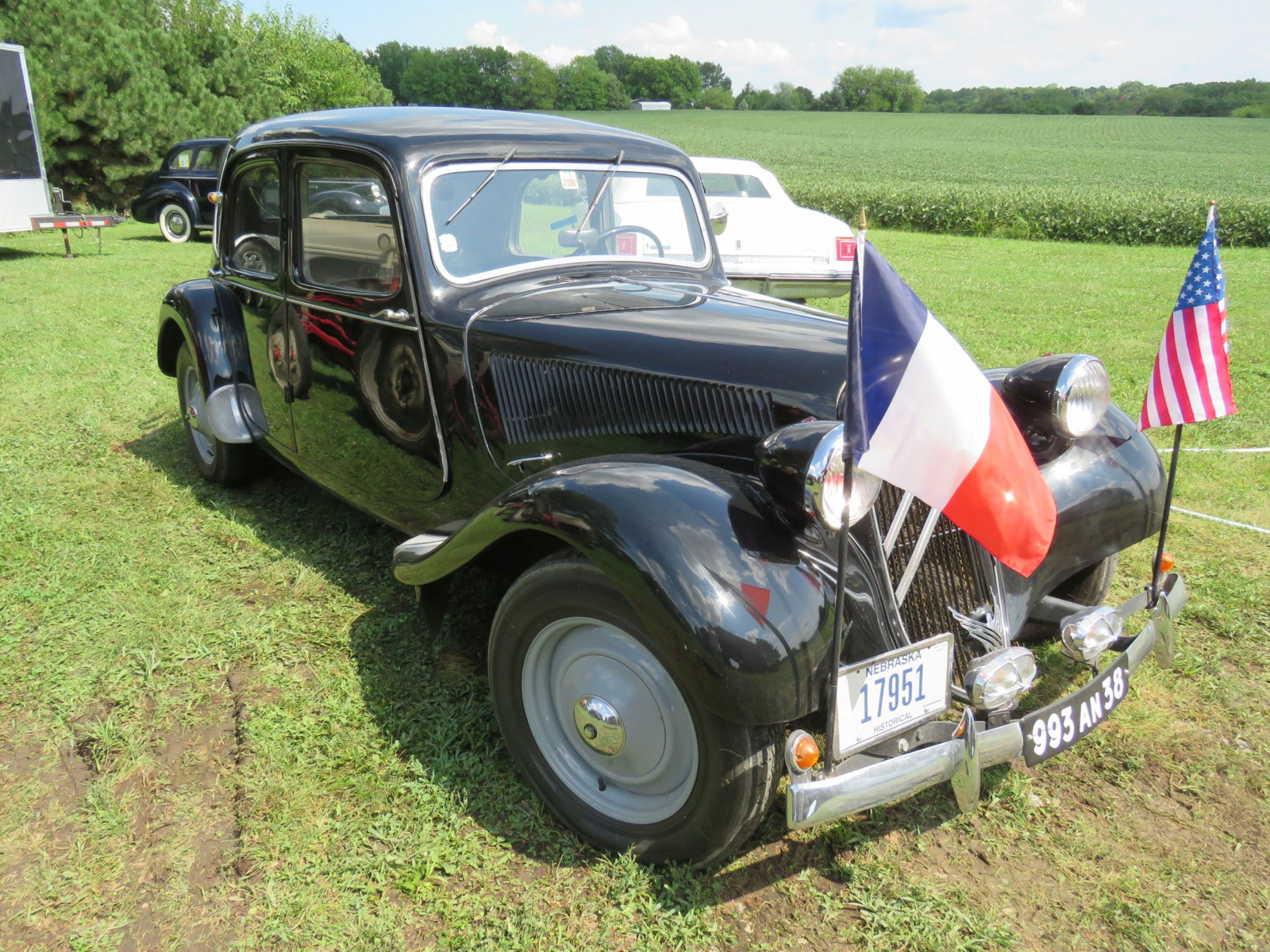 1951 Citroen Traction Avant 4dr Sedan - Image 1