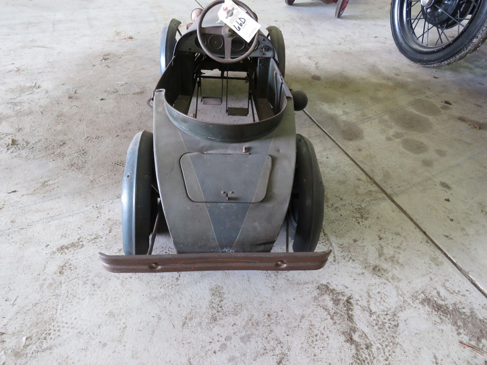 Vintage Regal Cycles Roadster Pedal Car - Image 6