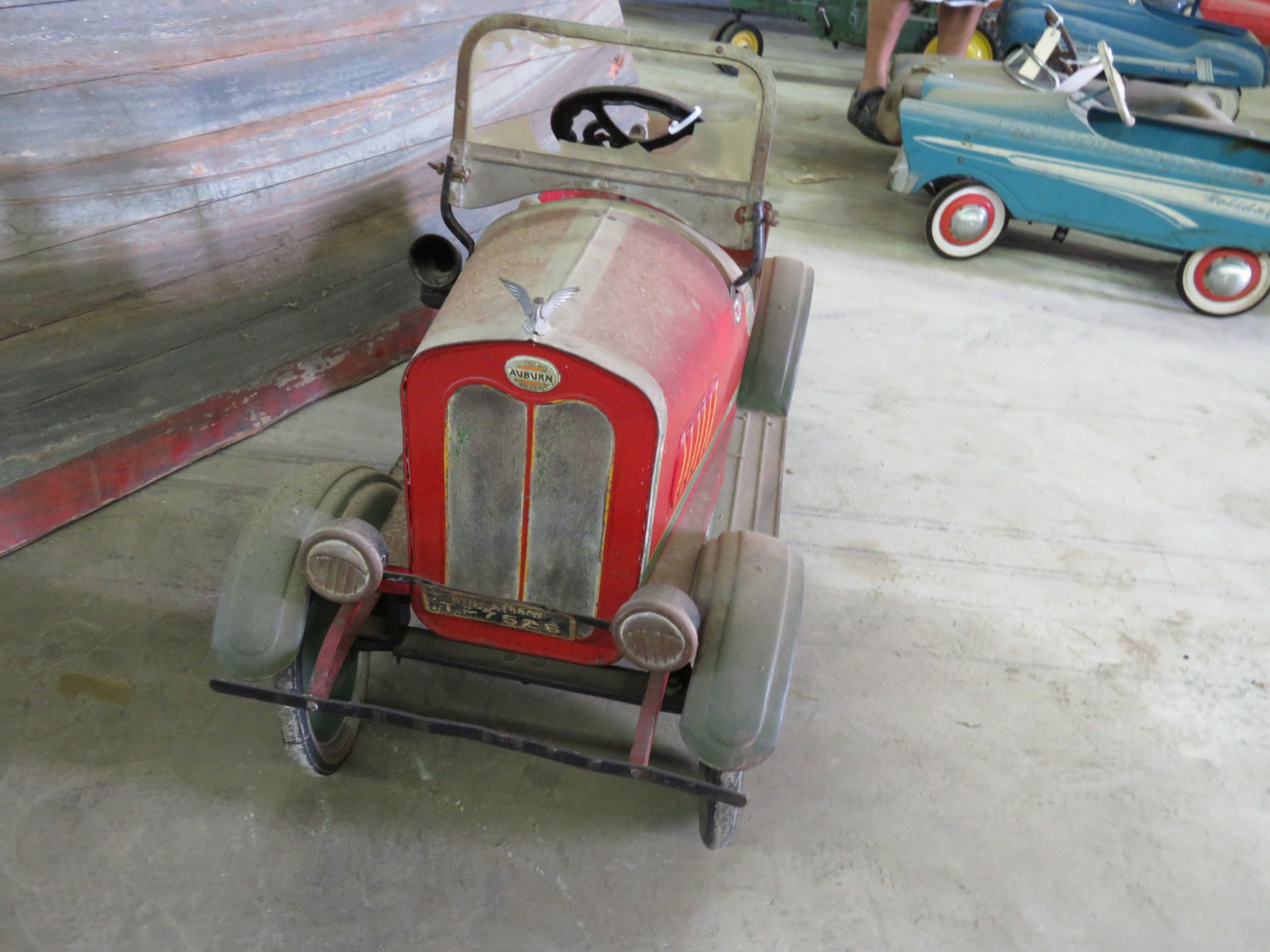 Vintage Steel craft 1929  Auburn Pedal Car - Image 3