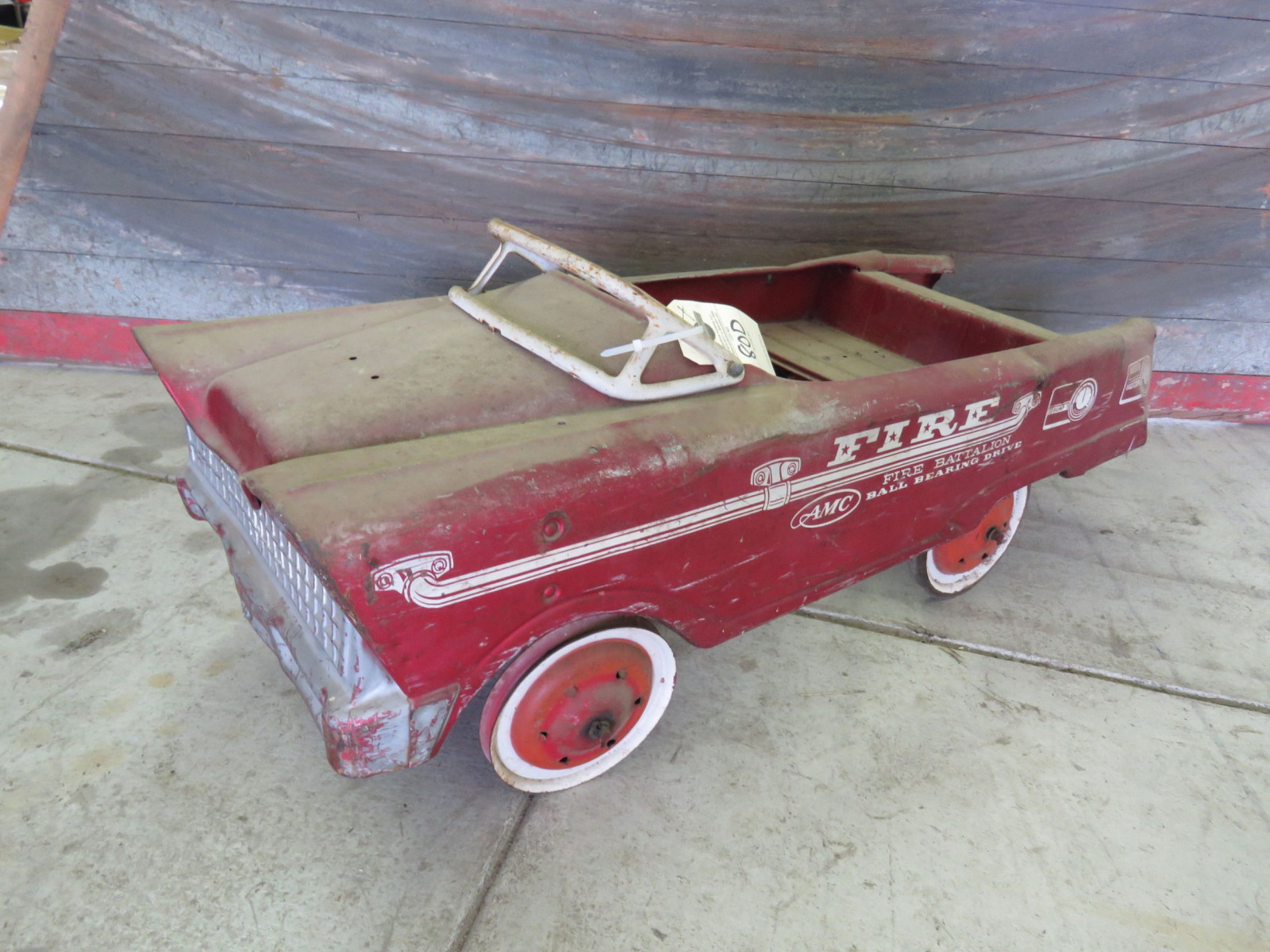 AMC Fire Chief Battalion Project Pedal Car - Image 1