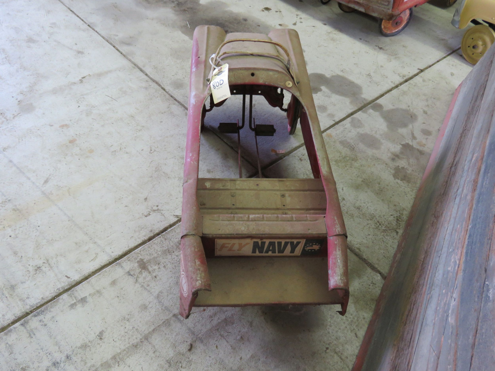 AMC Fire Chief Battalion Project Pedal Car - Image 3