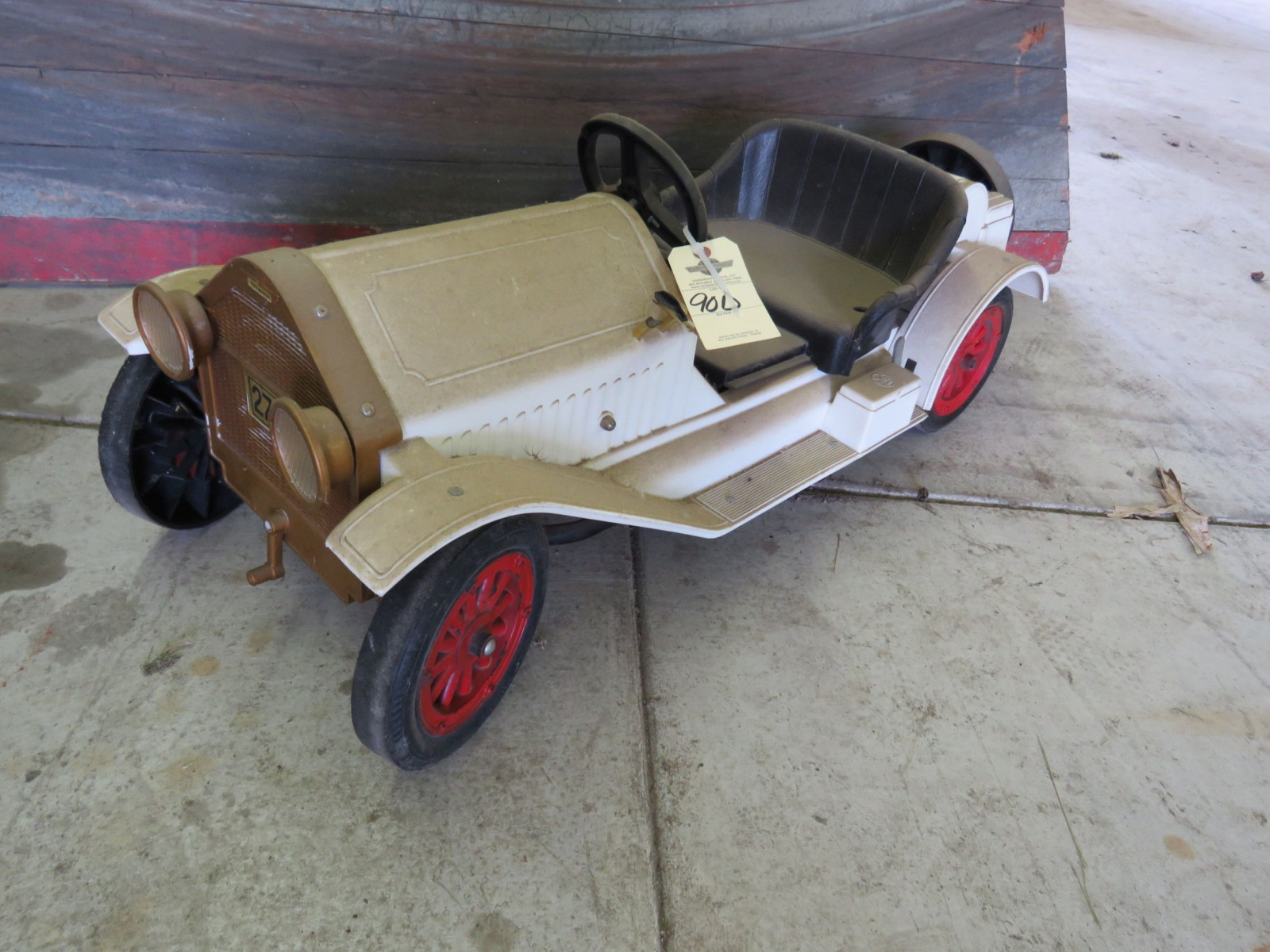 Plastic Stutz Bear Cat Pedal Car - Image 1