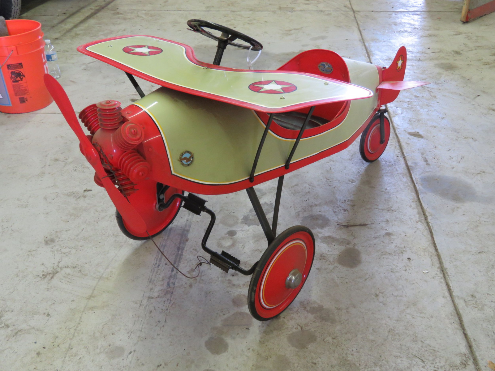 Homemade Spirit of St. Louis Pedal Airplane - Image 1