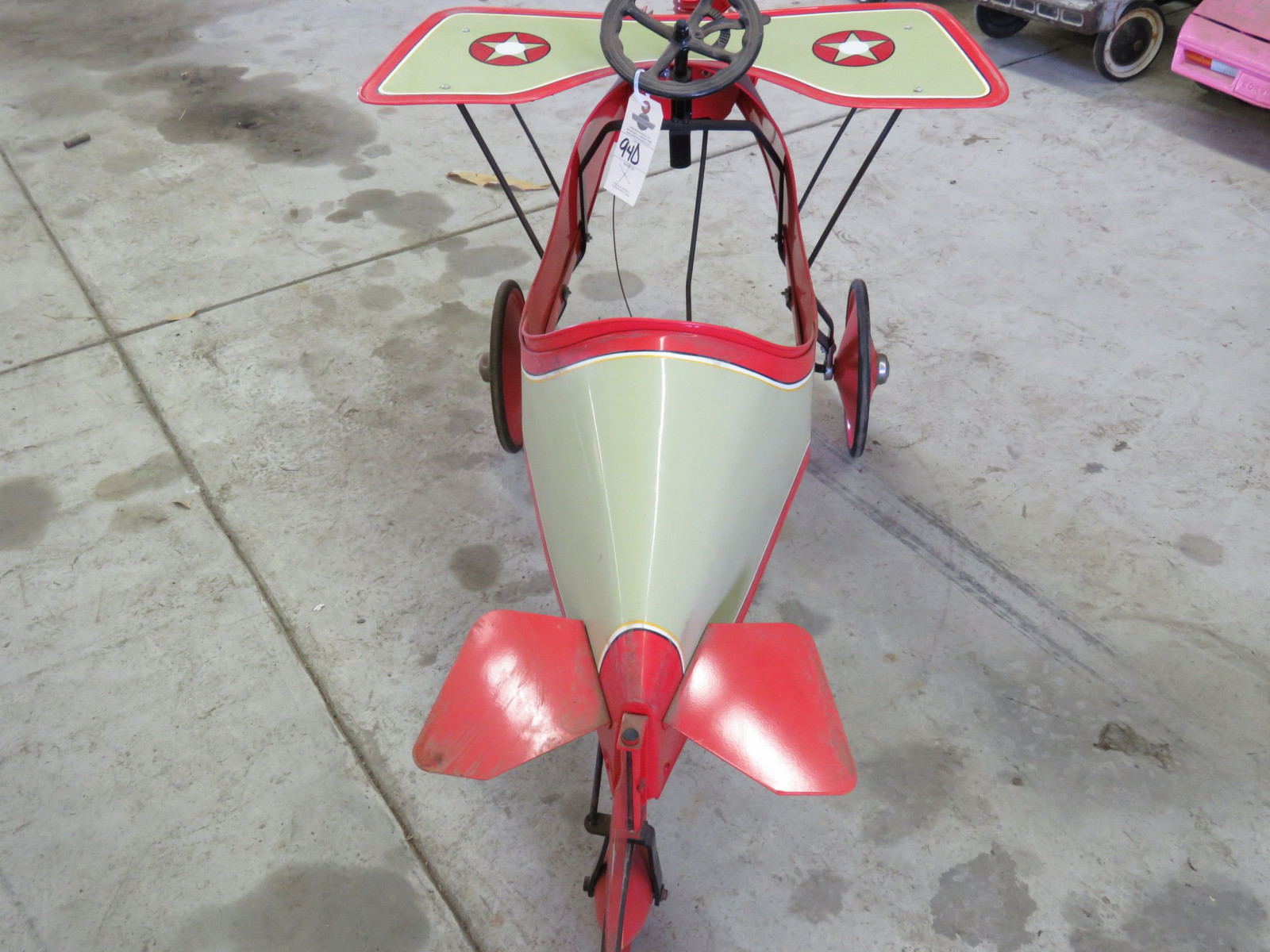 Homemade Spirit of St. Louis Pedal Airplane - Image 4