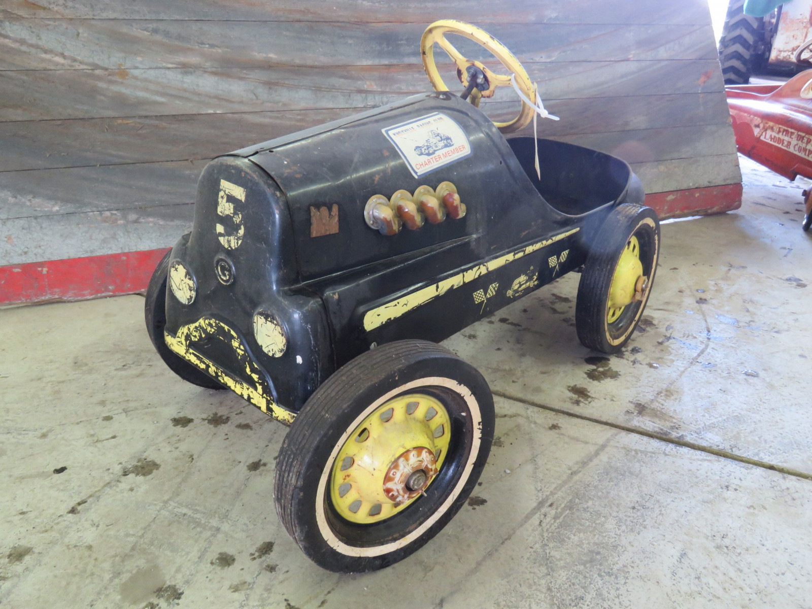 Vintage Garton Hot Rod Pedal Car - Image 1