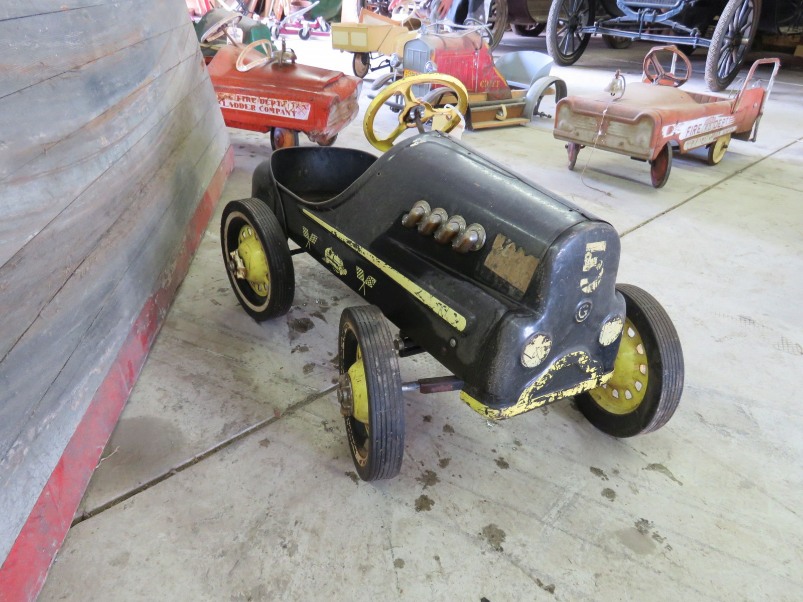 Vintage Garton Hot Rod Pedal Car - Image 2