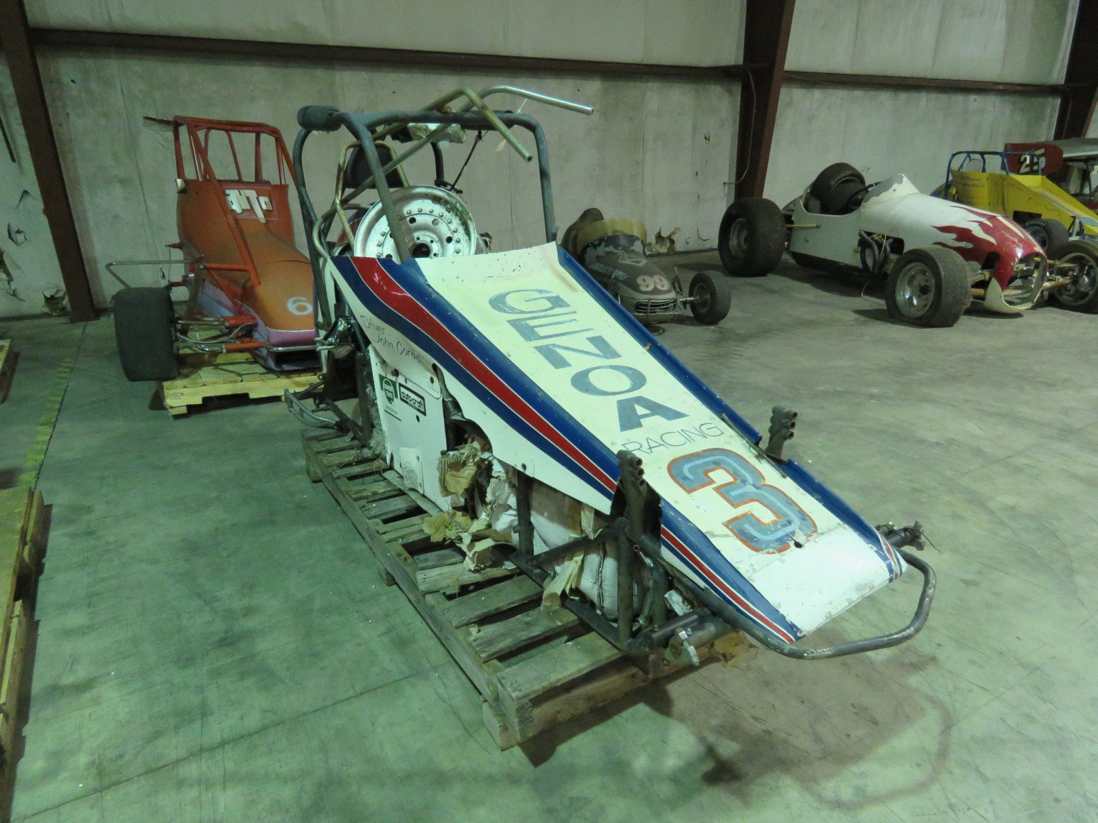 Vintage Edmunds Midget Race Car - Image 2
