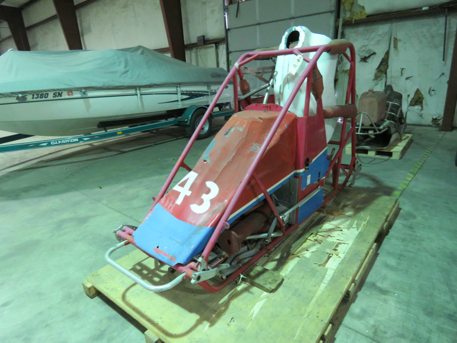 Vintage Home Built Midget Race Car - Image 1