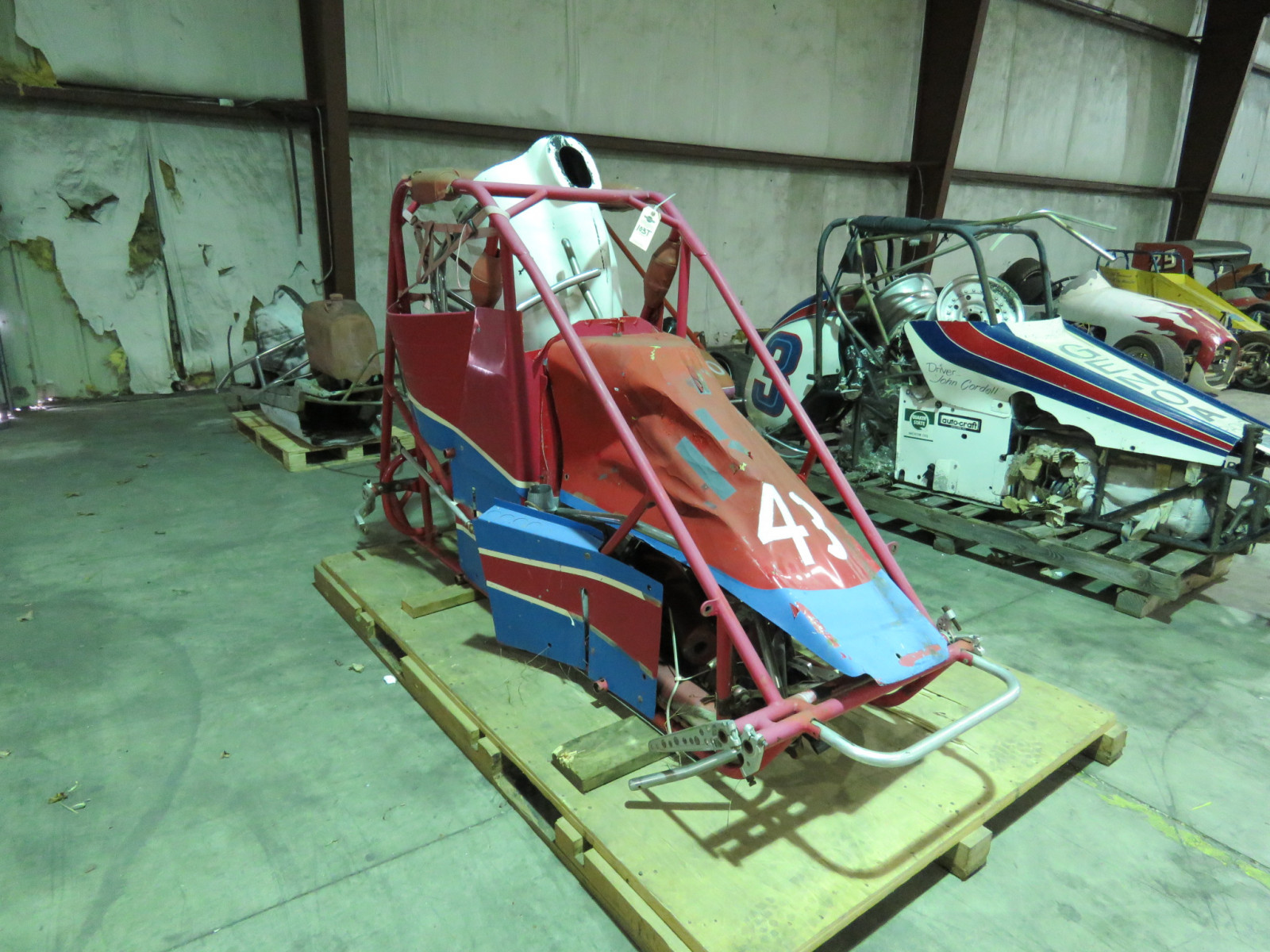 Vintage Home Built Midget Race Car - Image 3