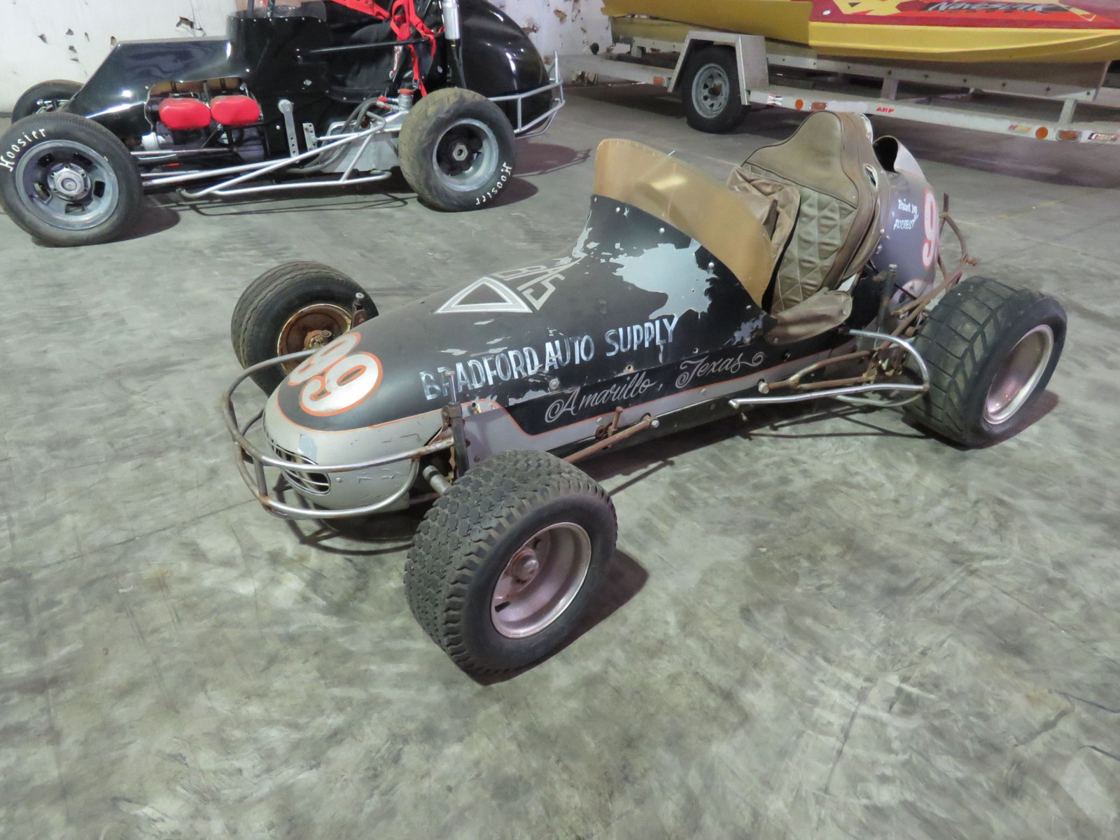 Vintage  1/2 scale Midget  Race Car - Image 2