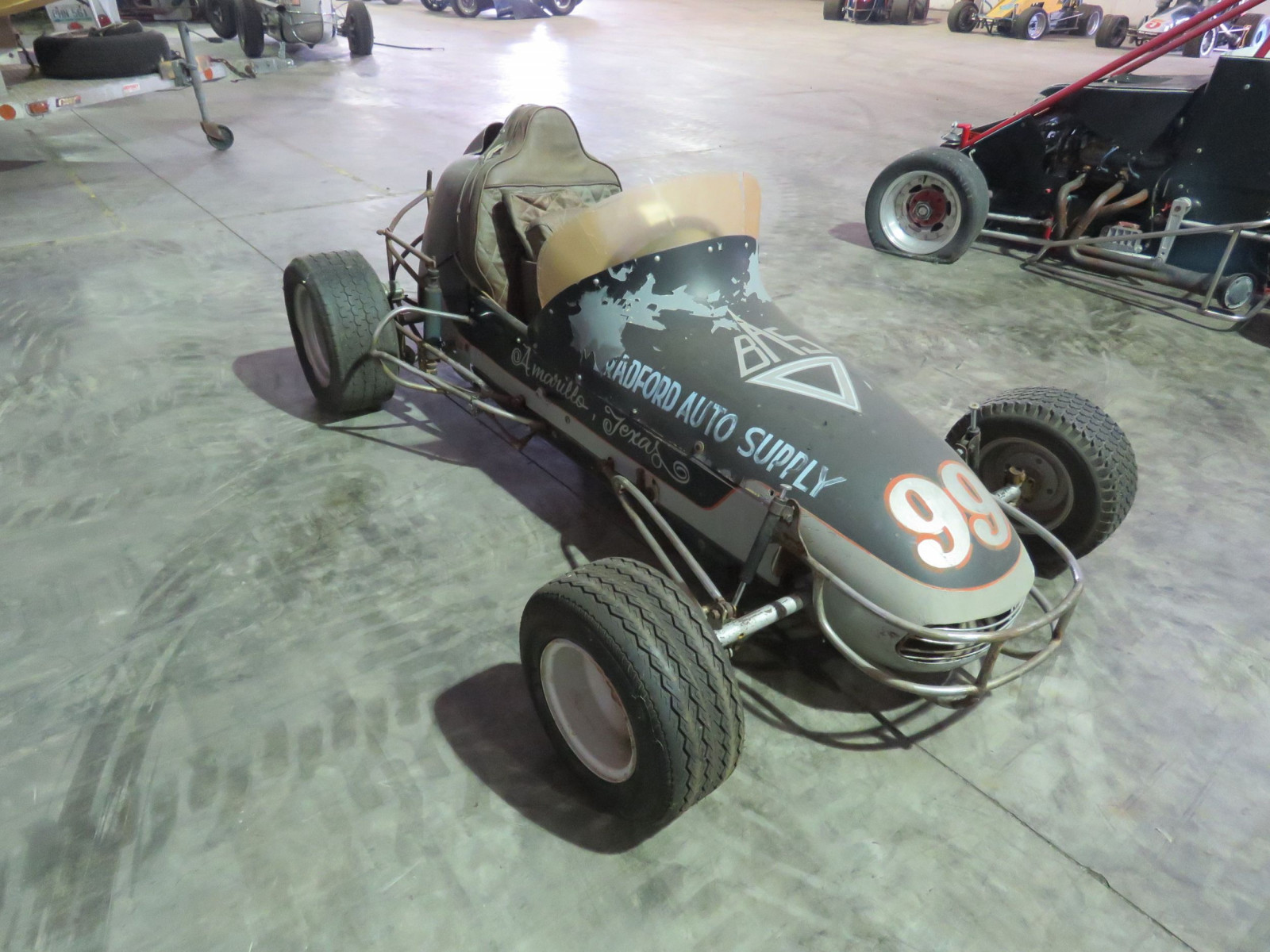 Vintage  1/2 scale Midget  Race Car - Image 4