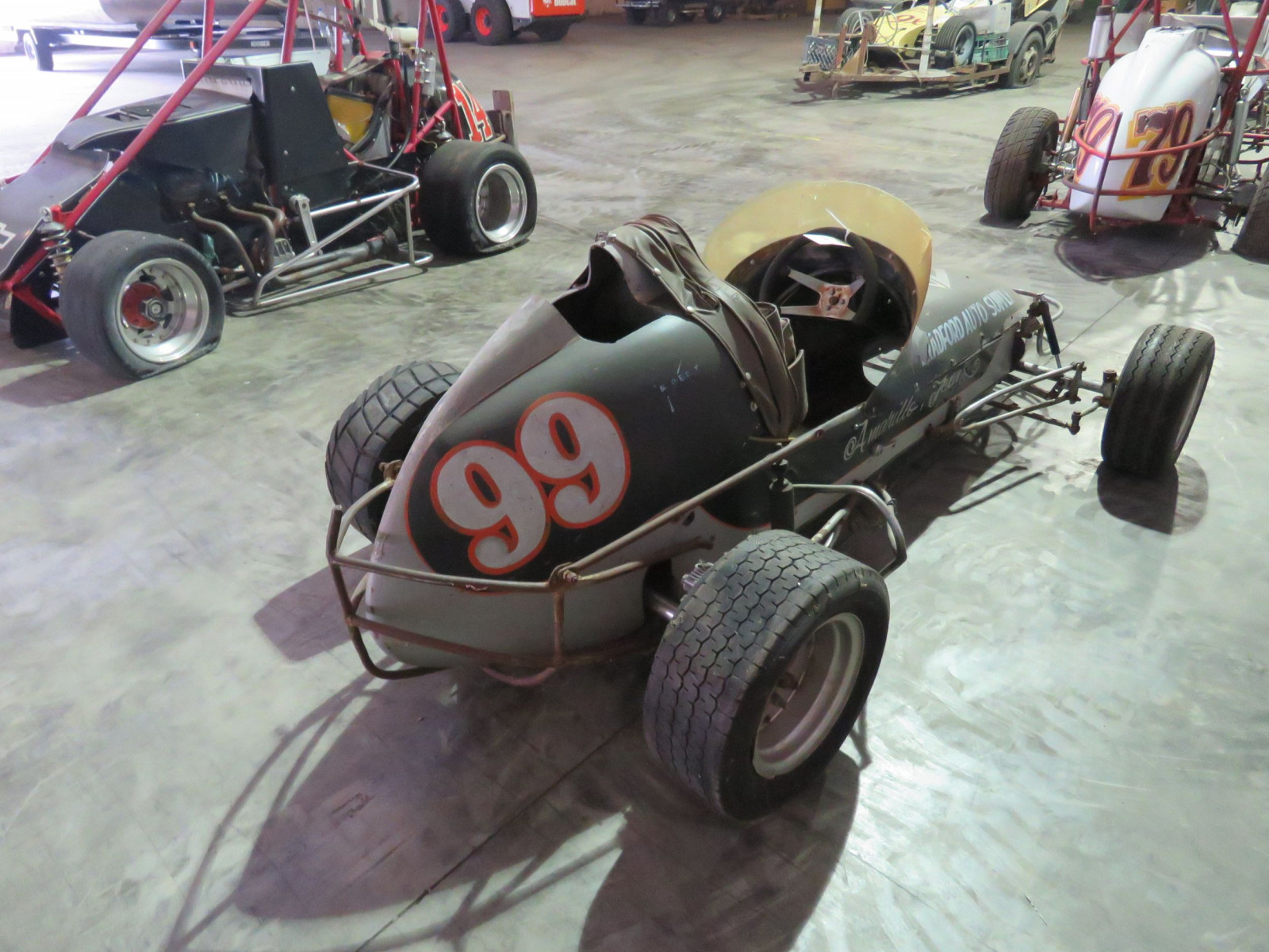 Vintage  1/2 scale Midget  Race Car - Image 5