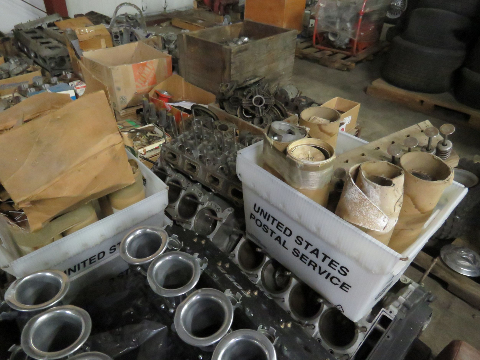 Ford Formula F1 Cosworth Engine with Parts Selling as a Pallet - Image 4