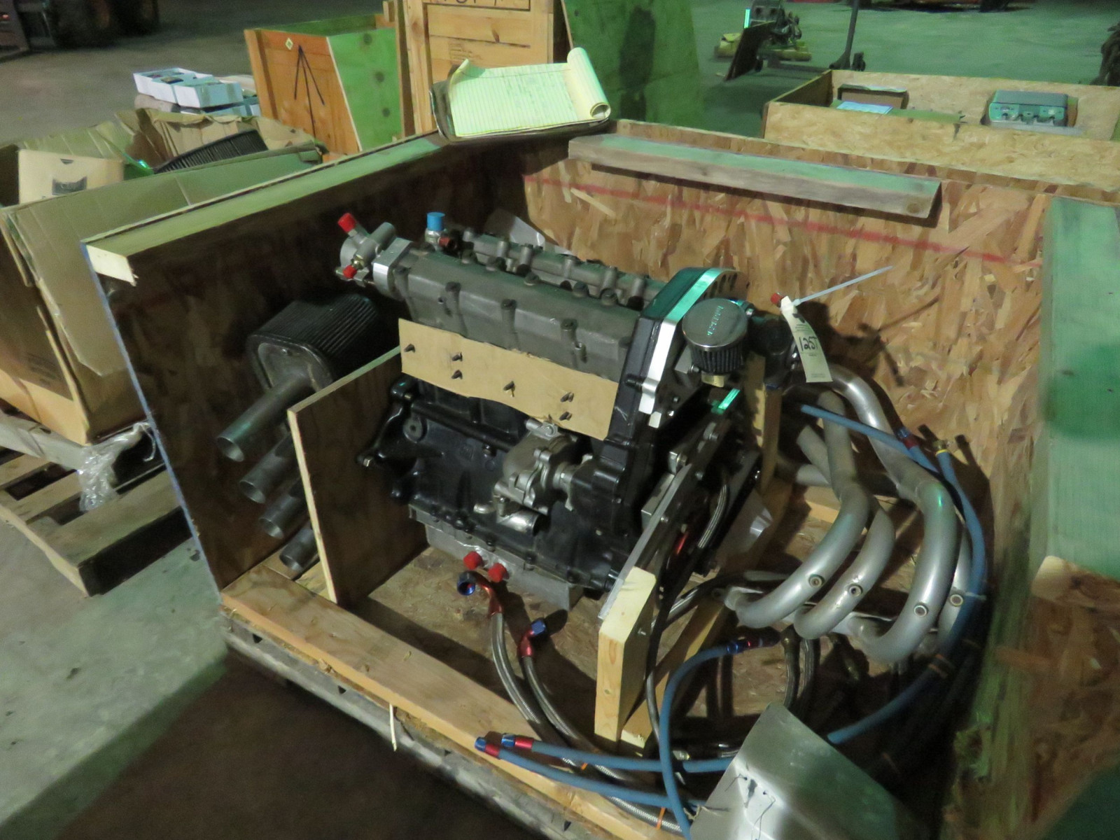Chevy II Fuel Injected Motor for Vintage Midget Race Car - Image 1