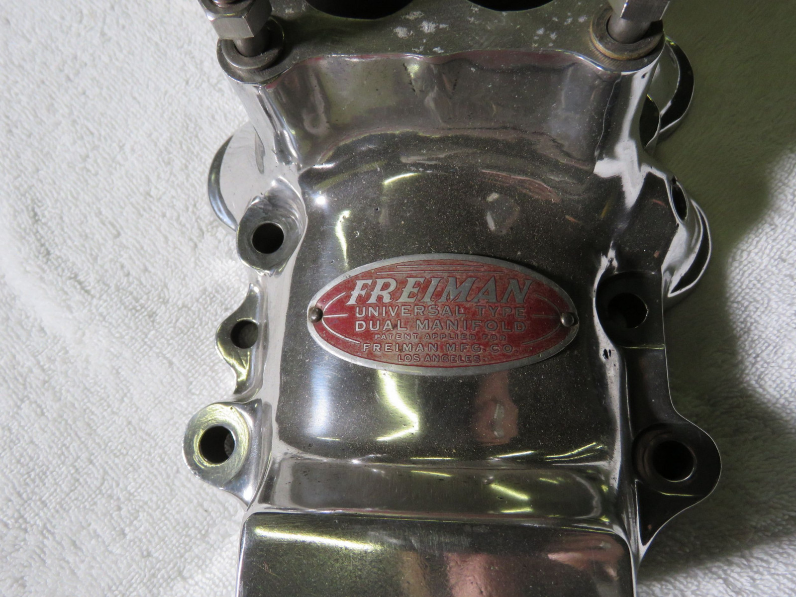 Rare Freiman Universal Type Dual Manifold Flathead Ford - Image 2