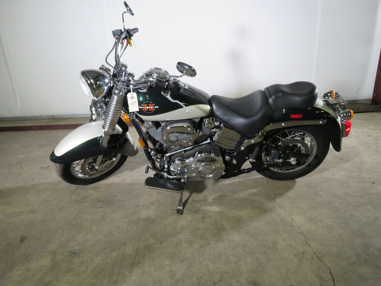2000 Excelsior Henderson Super X Motorcycle - Image 1