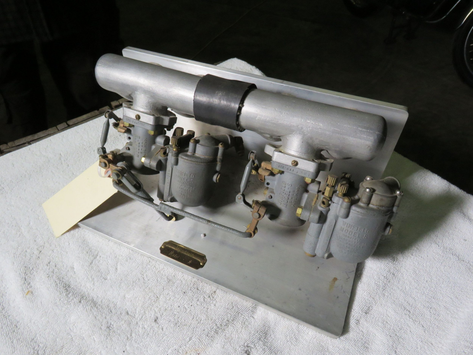 Winfield Model S Carbs and Manifold - Image 1