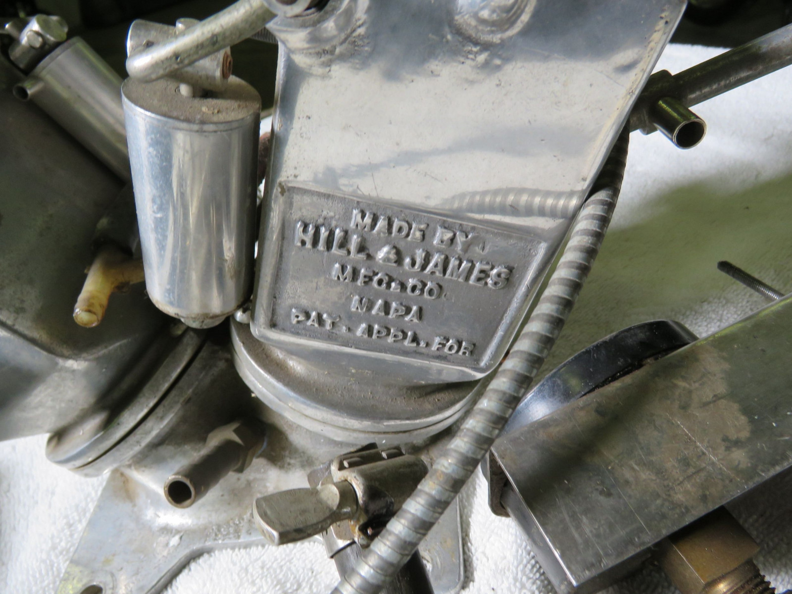 RARE Hill and James Funky Carburetor Speed Equipment - Image 3