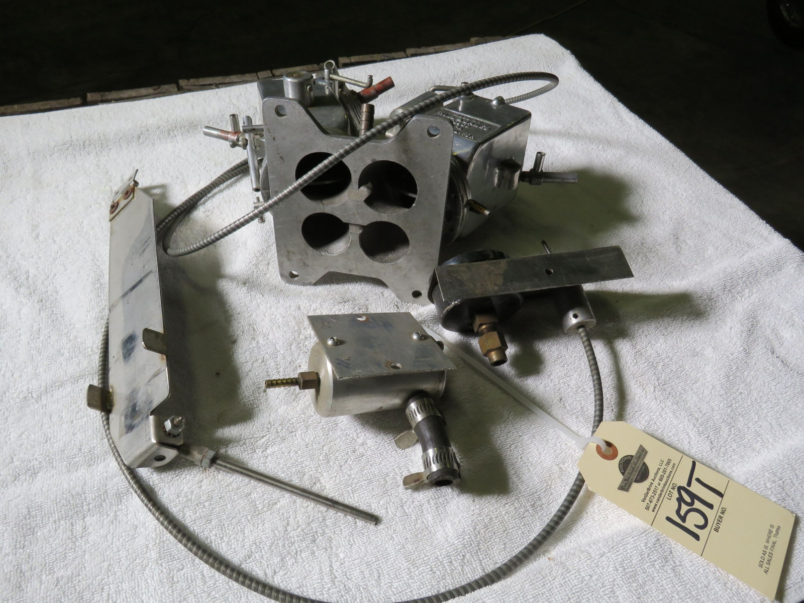 RARE Hill and James Funky Carburetor Speed Equipment - Image 4