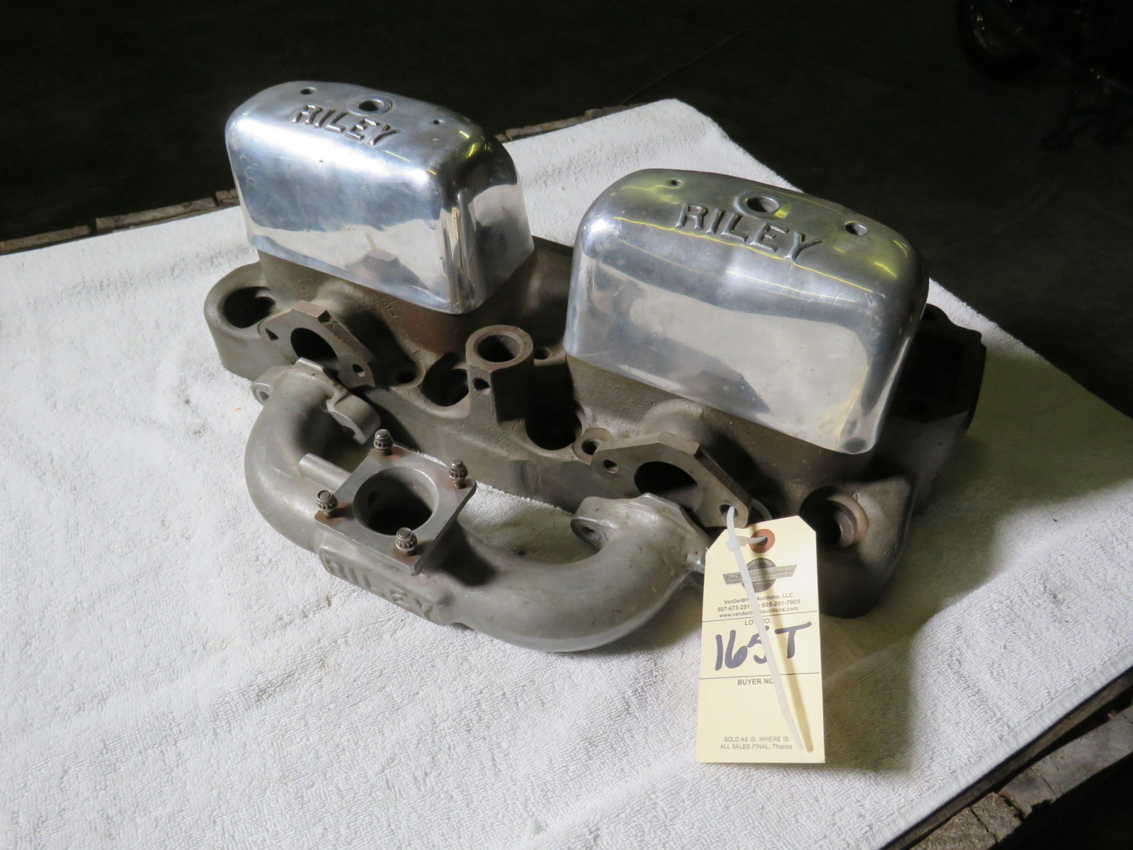 Rare Riley OHV Ford 4 cylinder Conversion heads - Image 1