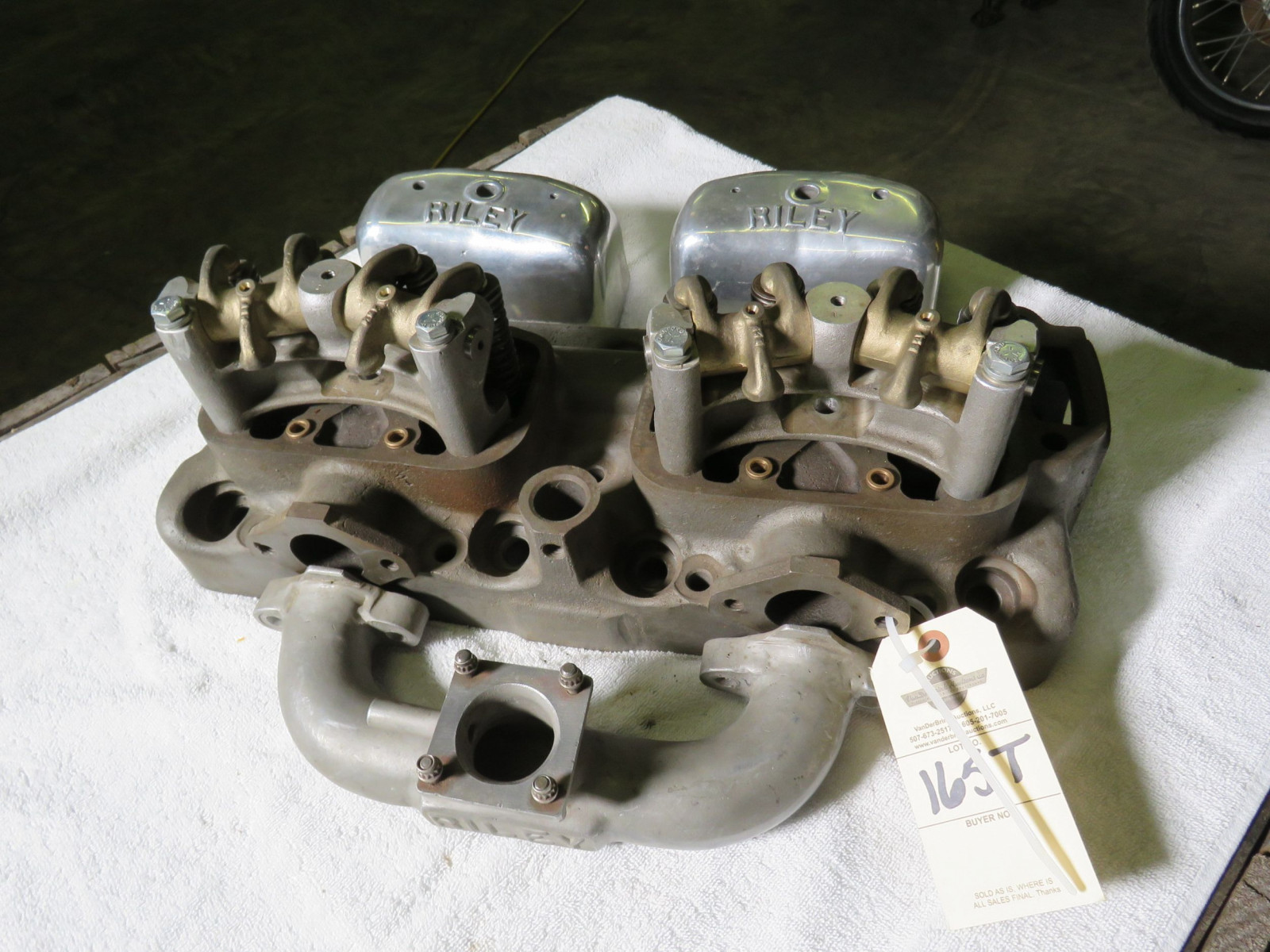 Rare Riley OHV Ford 4 cylinder Conversion heads - Image 2