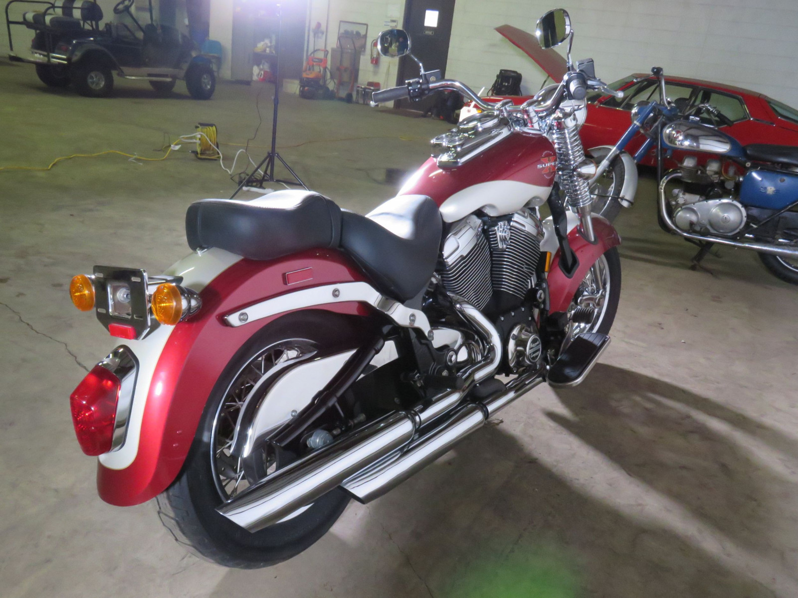1999 Excelsior Henderson Super X Motorcycle - Image 6