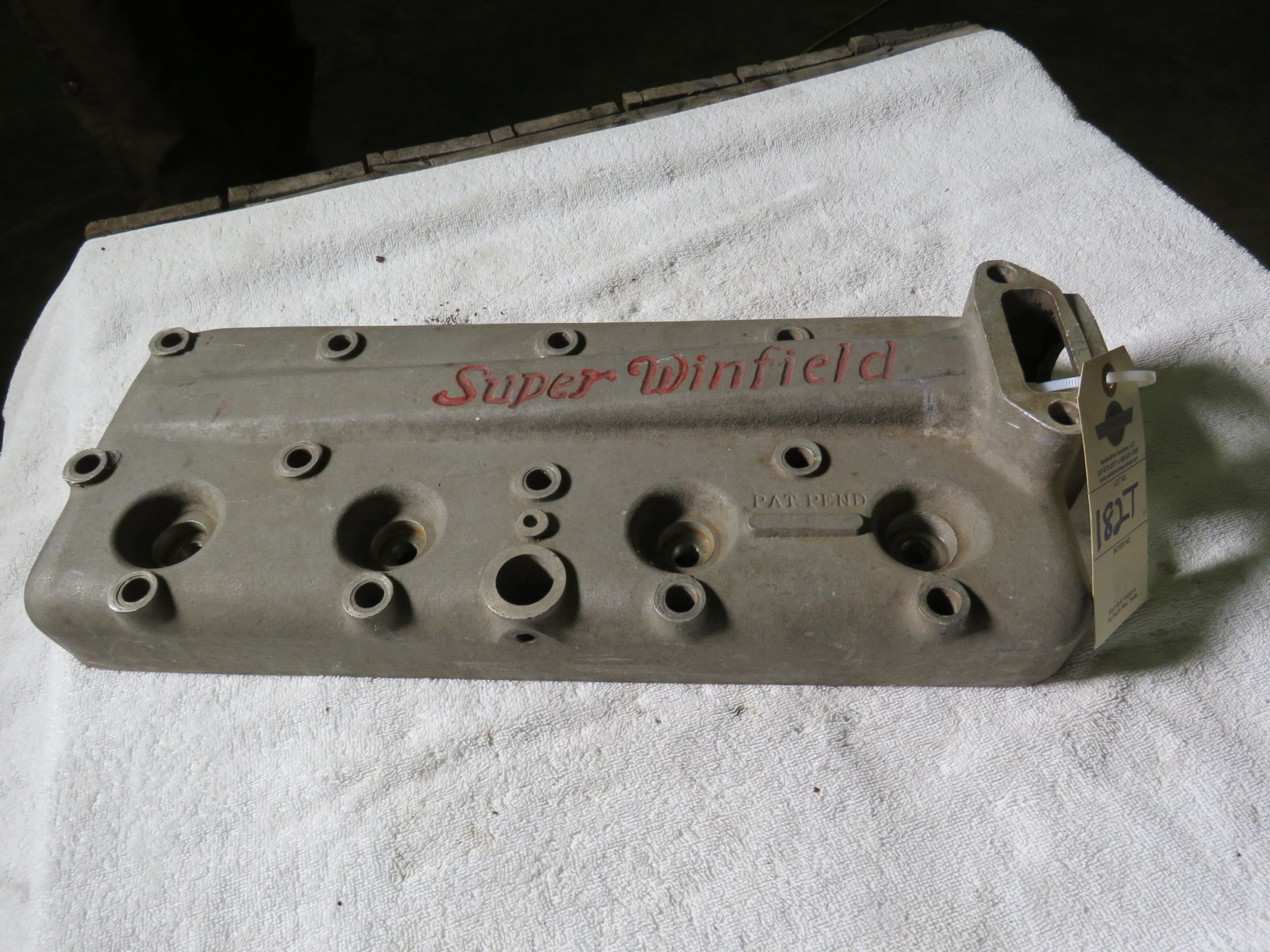 Rare Super Winfield 4 cylinder Head - Image 1