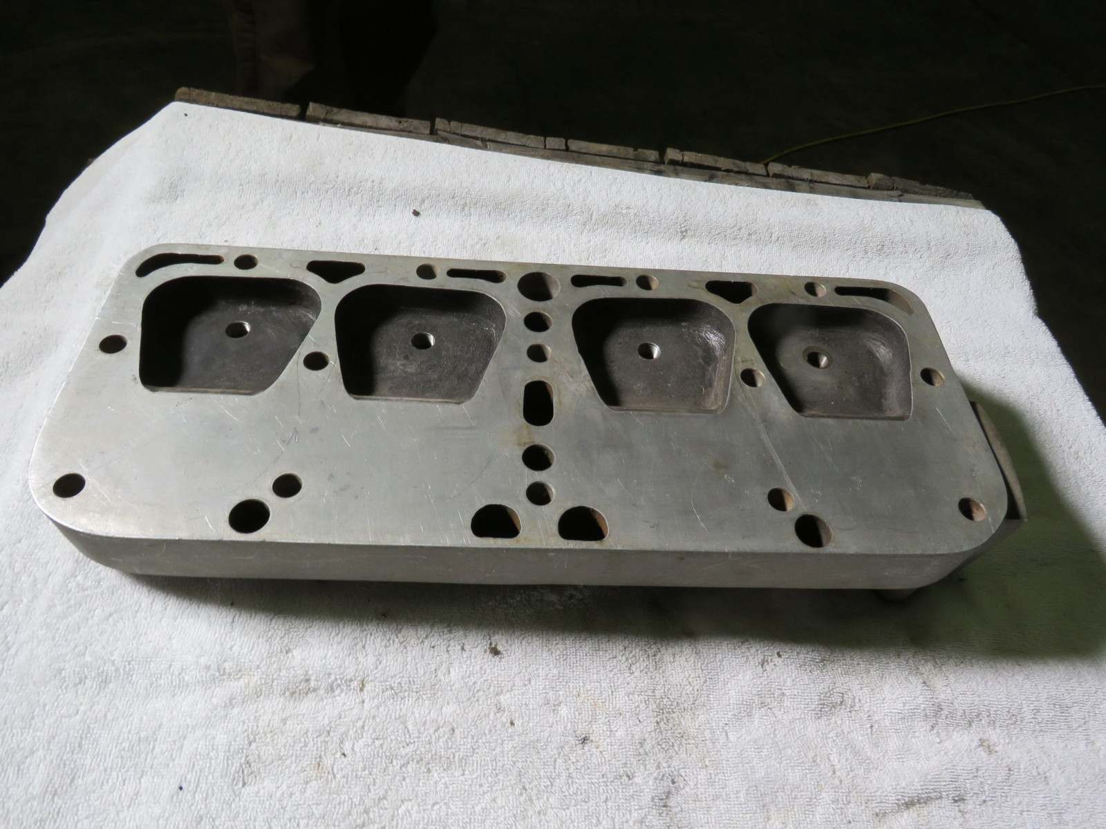 Rare Super Winfield 4 cylinder Head - Image 2