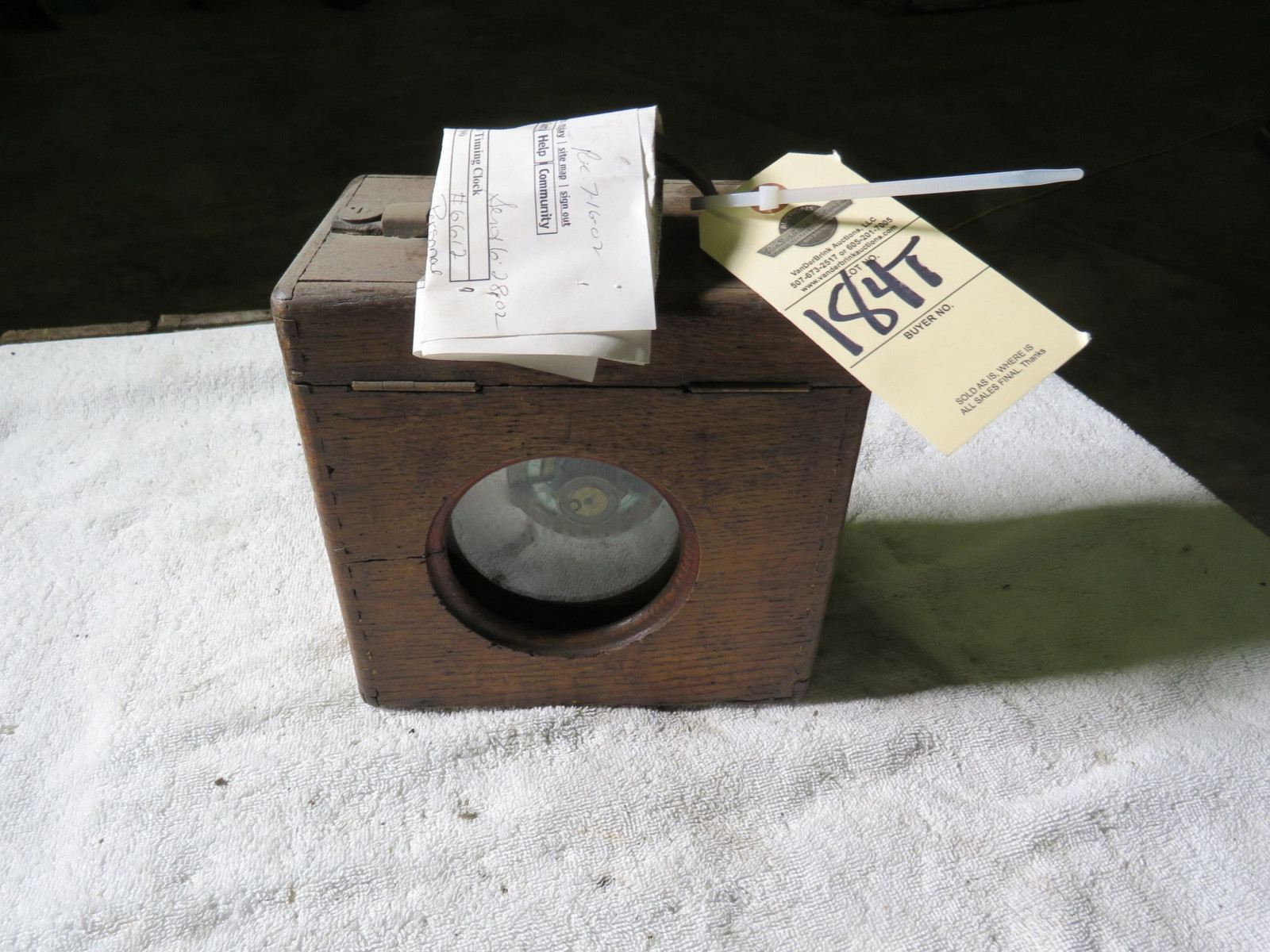 Midget Timing Box -Coulet Excelsior - Image 1
