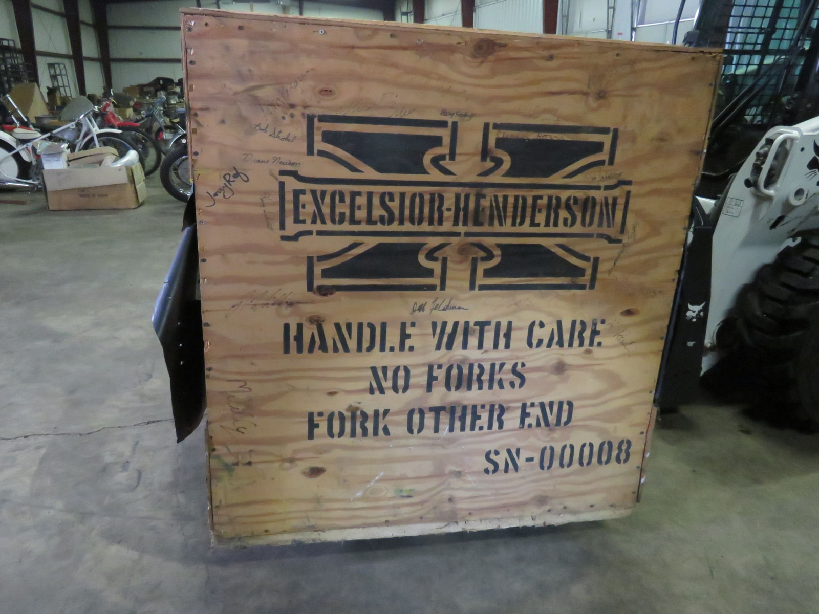 1999 Excelsior Henderson Super X NIB Motorcycle - Image 3