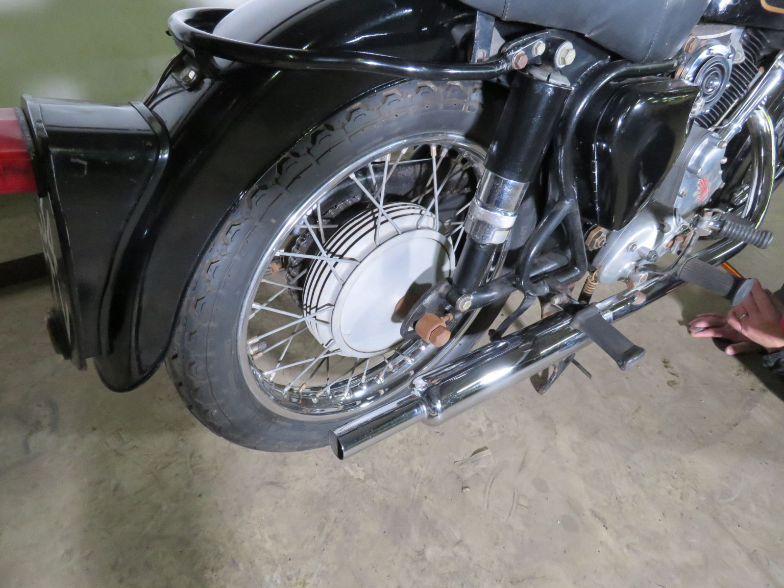 1959 Panther Model 120 Motorcycle - Image 10