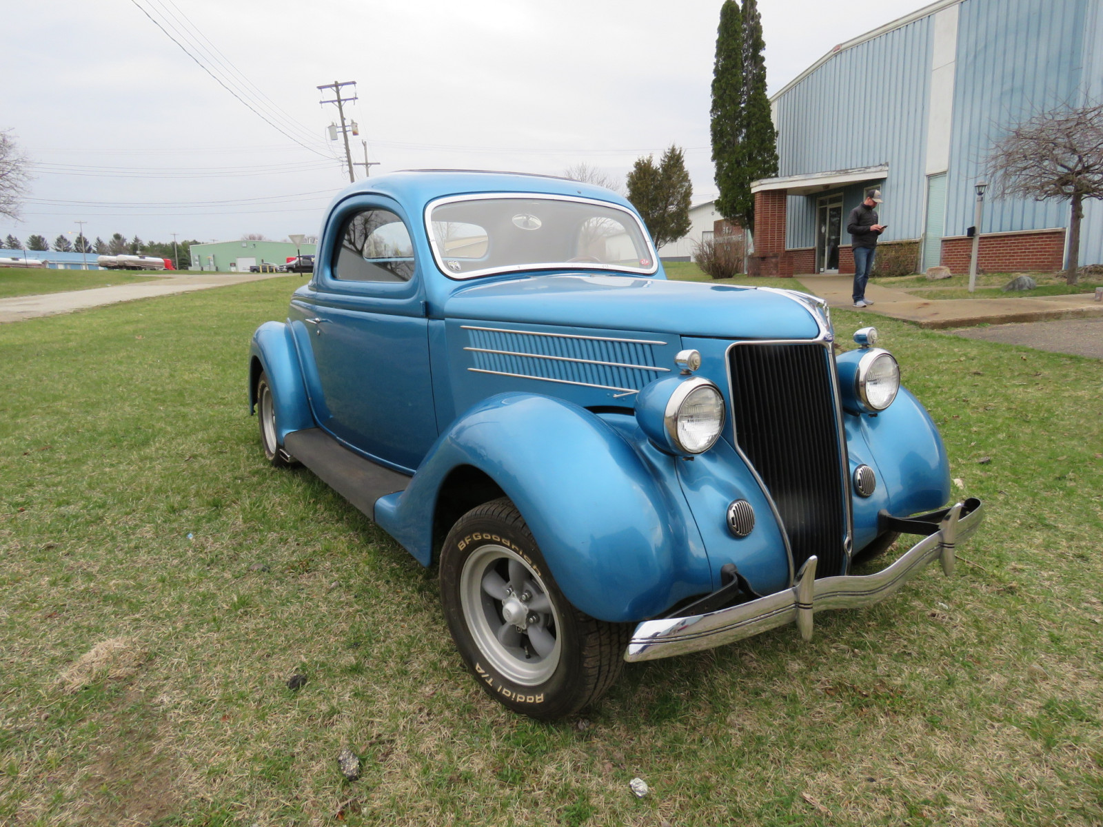 Rare 1936 Ford 3 Window Coupe - Image 1
