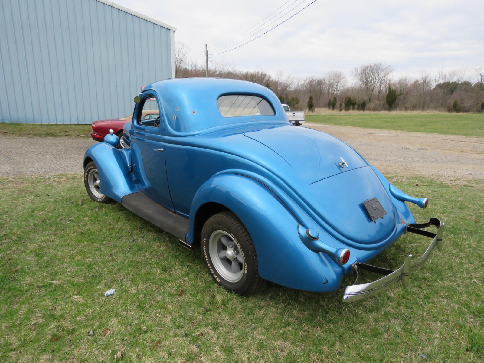 Rare 1936 Ford 3 Window Coupe - Image 5