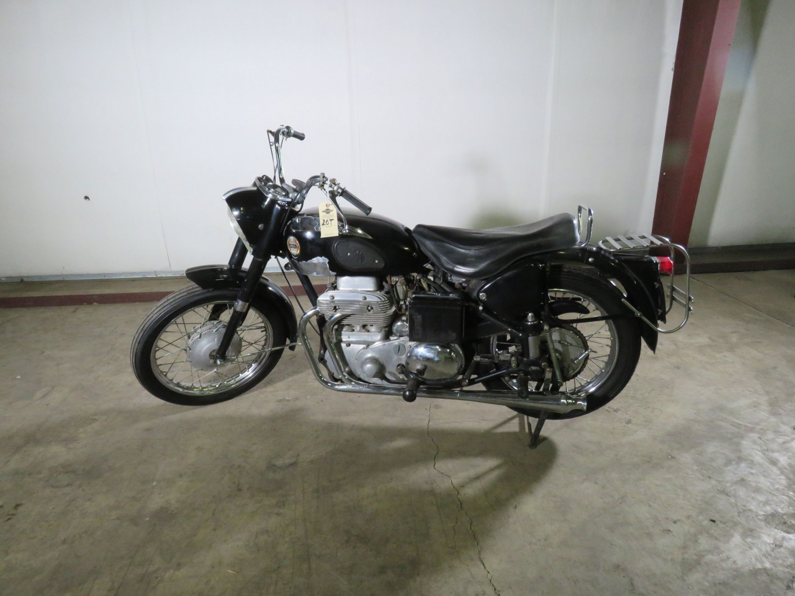 1957 Ariel Square Four Motorcycle - Image 1