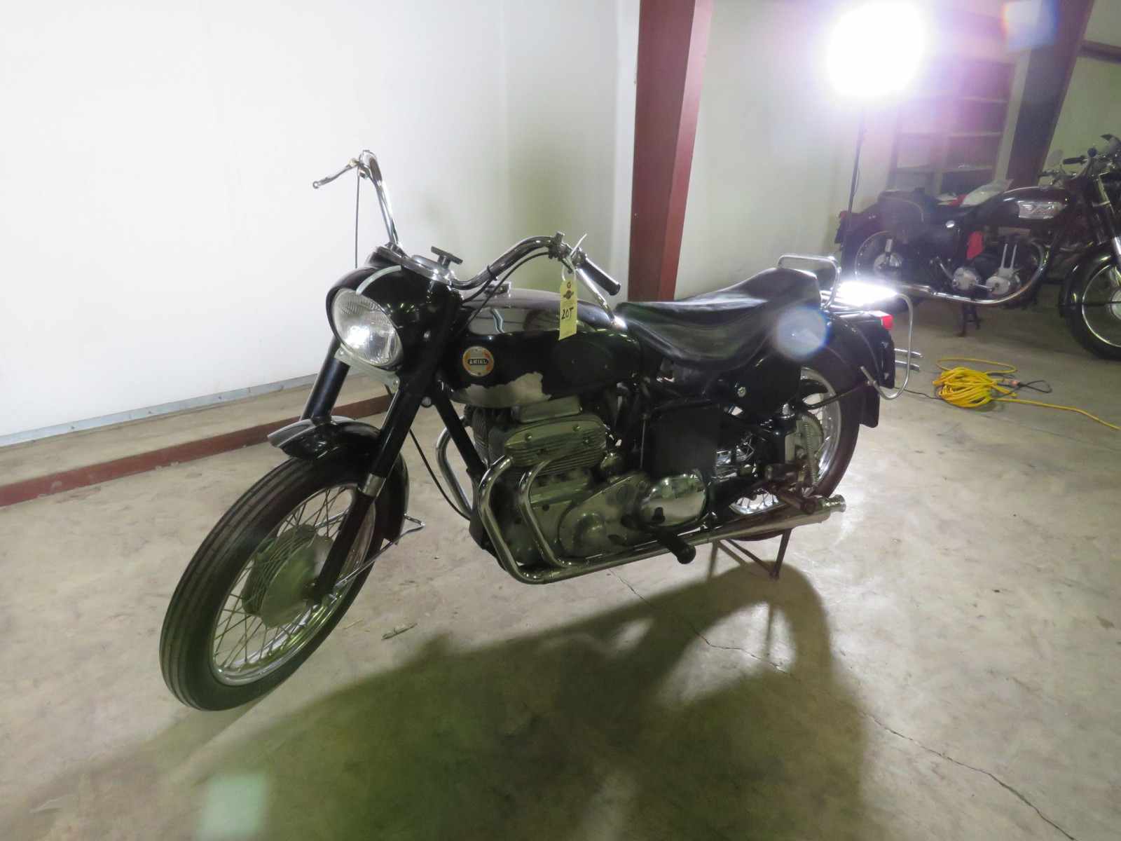 1957 Ariel Square Four Motorcycle - Image 2