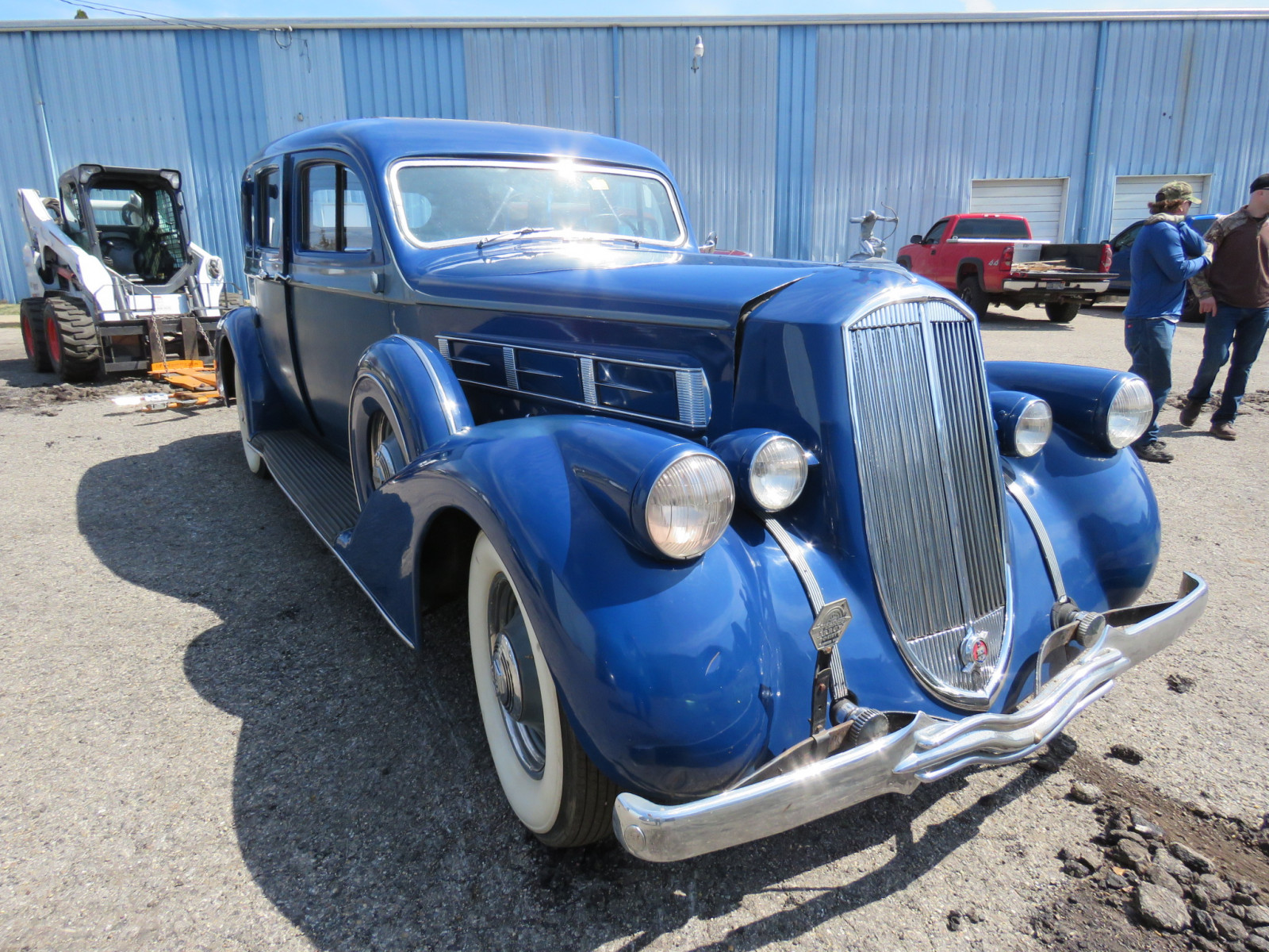 1936 Pierce Arrow V12  Series 1602 5 Passenger Sedan - Image 3