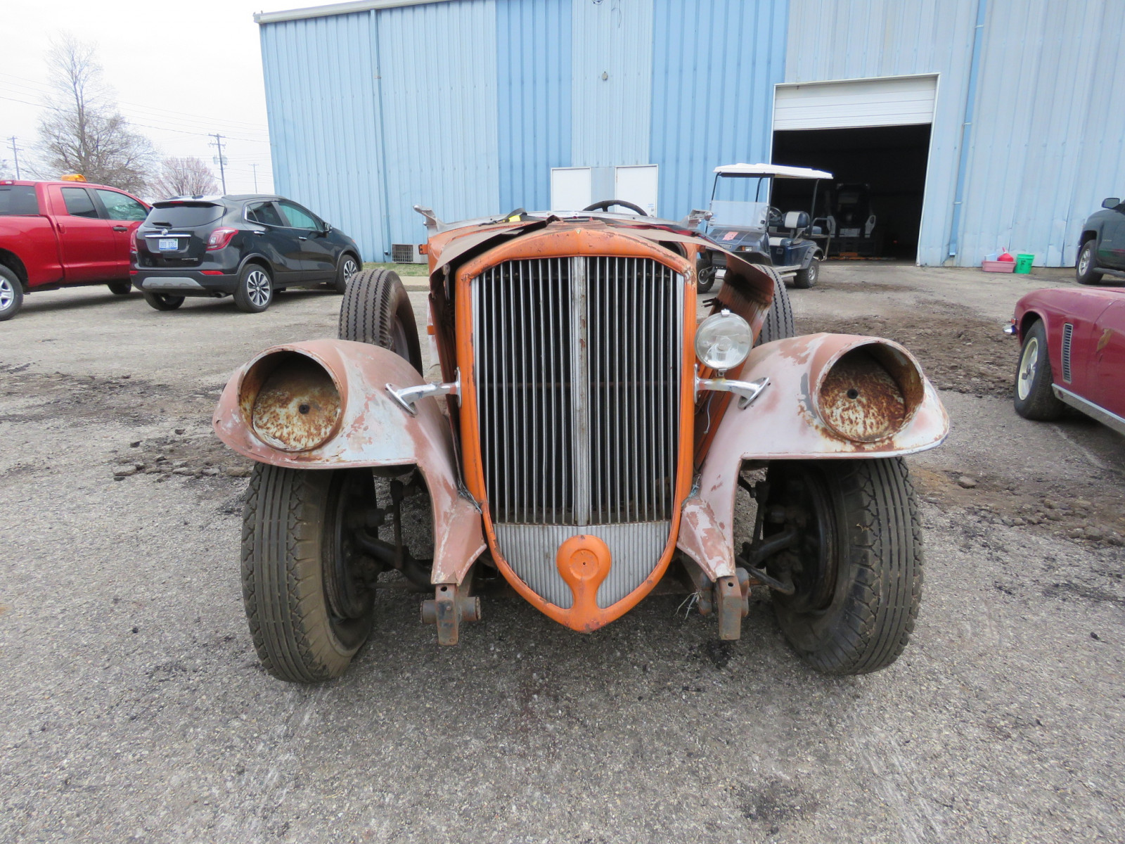 1933 Pierce Arrow Roadster Project - Image 2