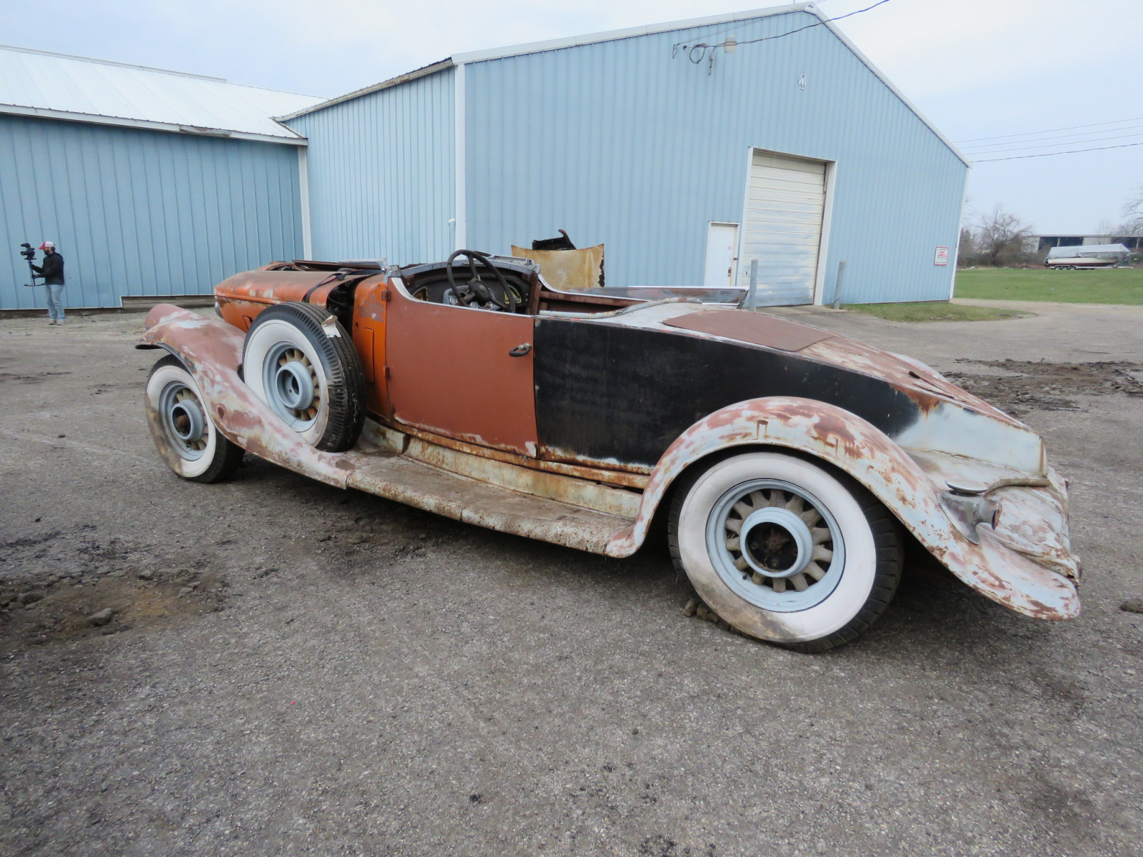 1933 Pierce Arrow Roadster Project - Image 4