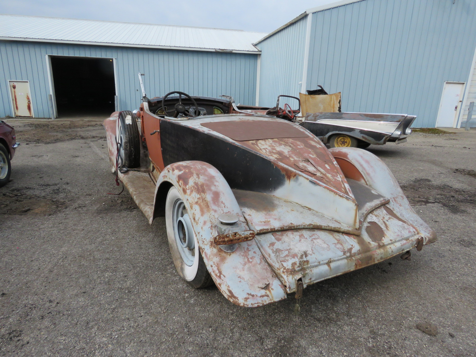 1933 Pierce Arrow Roadster Project - Image 8