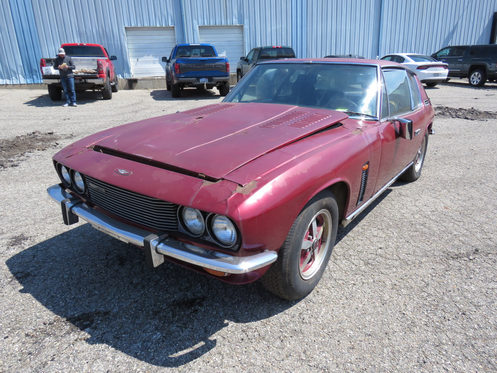 1974 Jensen Interceptor II 2dr Sedan - Image 1