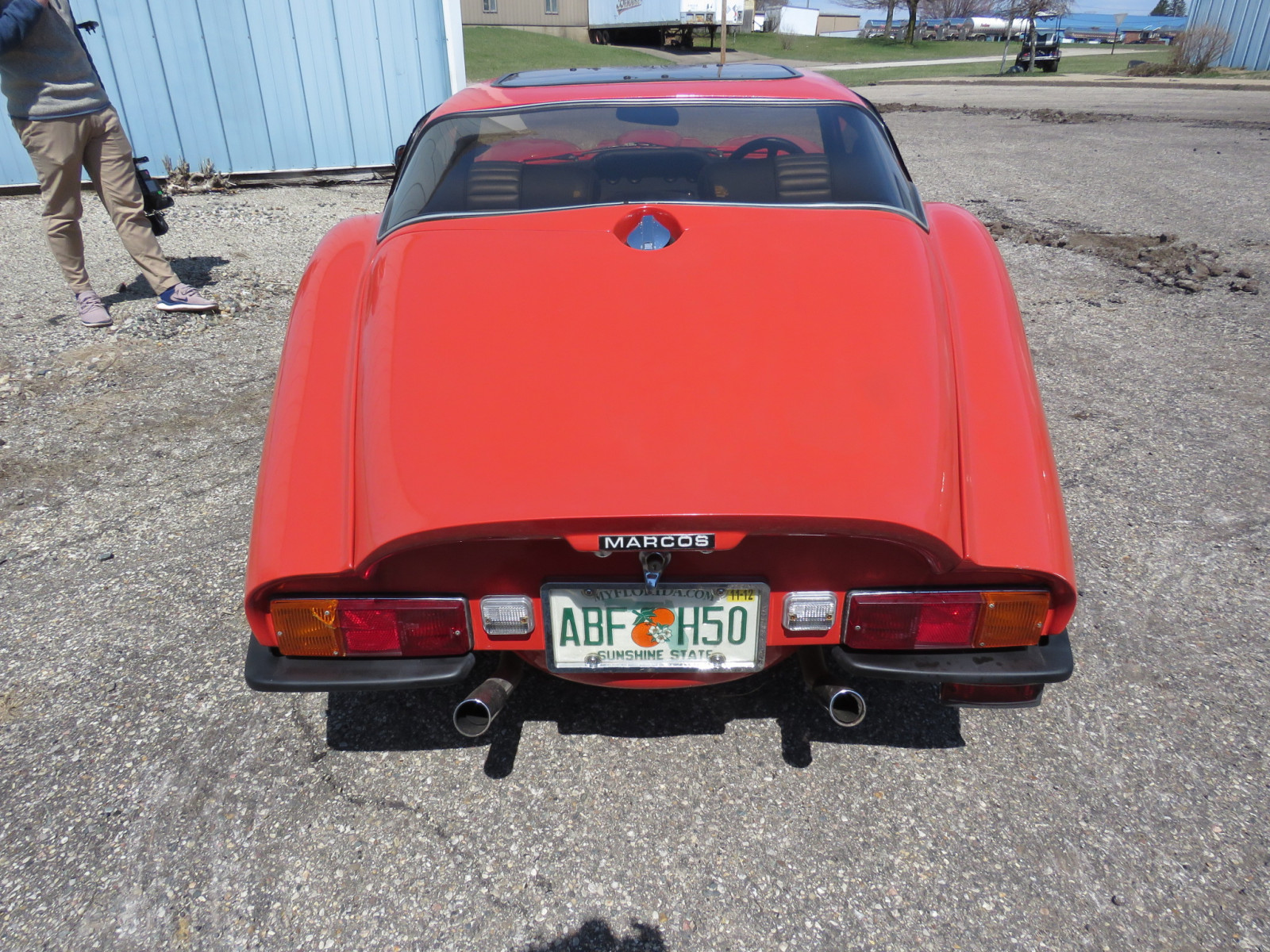 1986 Marcos Model 1086 Coupe - Image 6