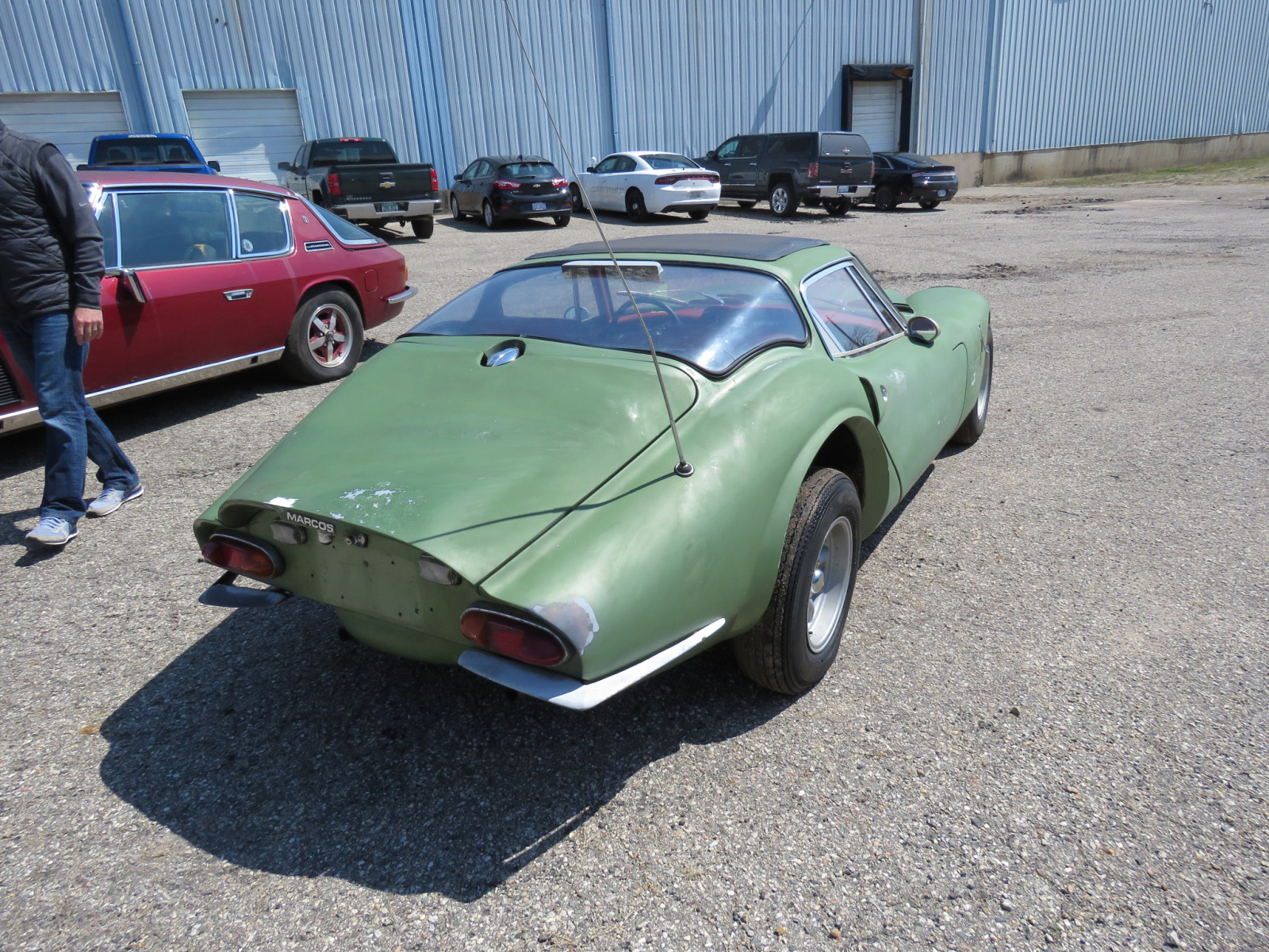1969 Marcos Model 1600 Coupe - Image 5
