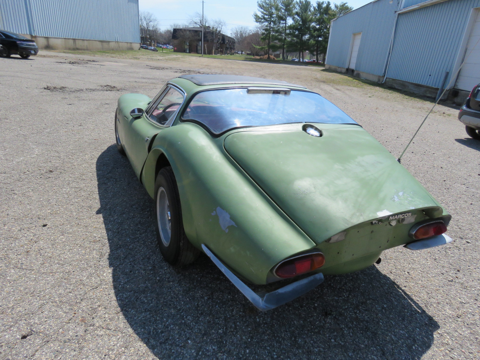 1969 Marcos Model 1600 Coupe - Image 7