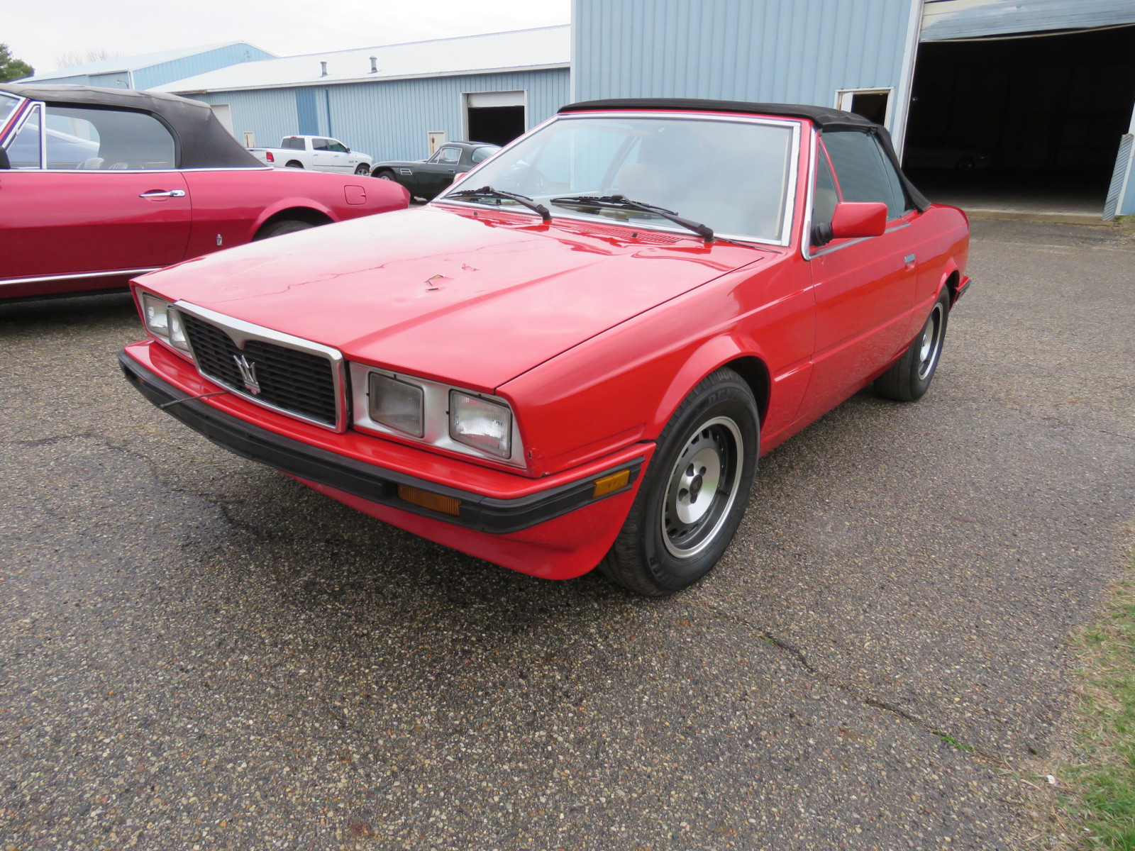 1986 MaserattiB1 Turbo Convertible - Image 1