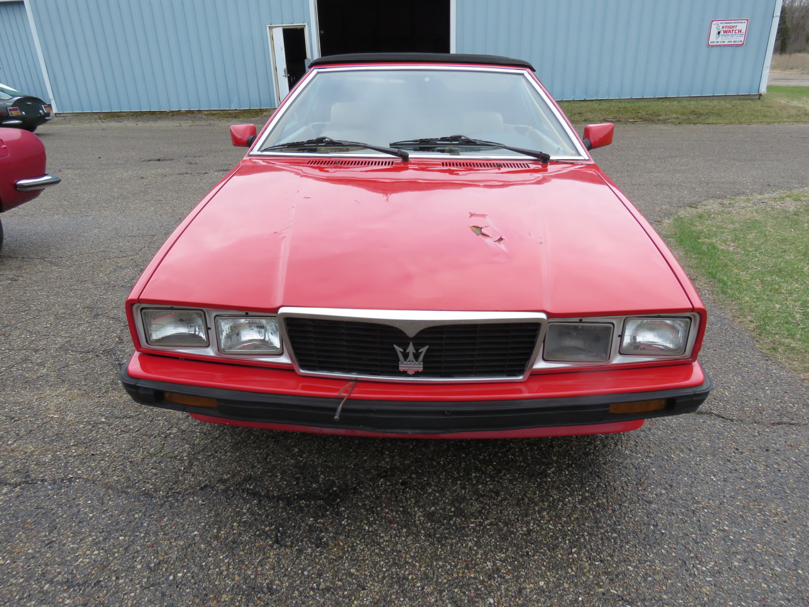 1986 MaserattiB1 Turbo Convertible - Image 2